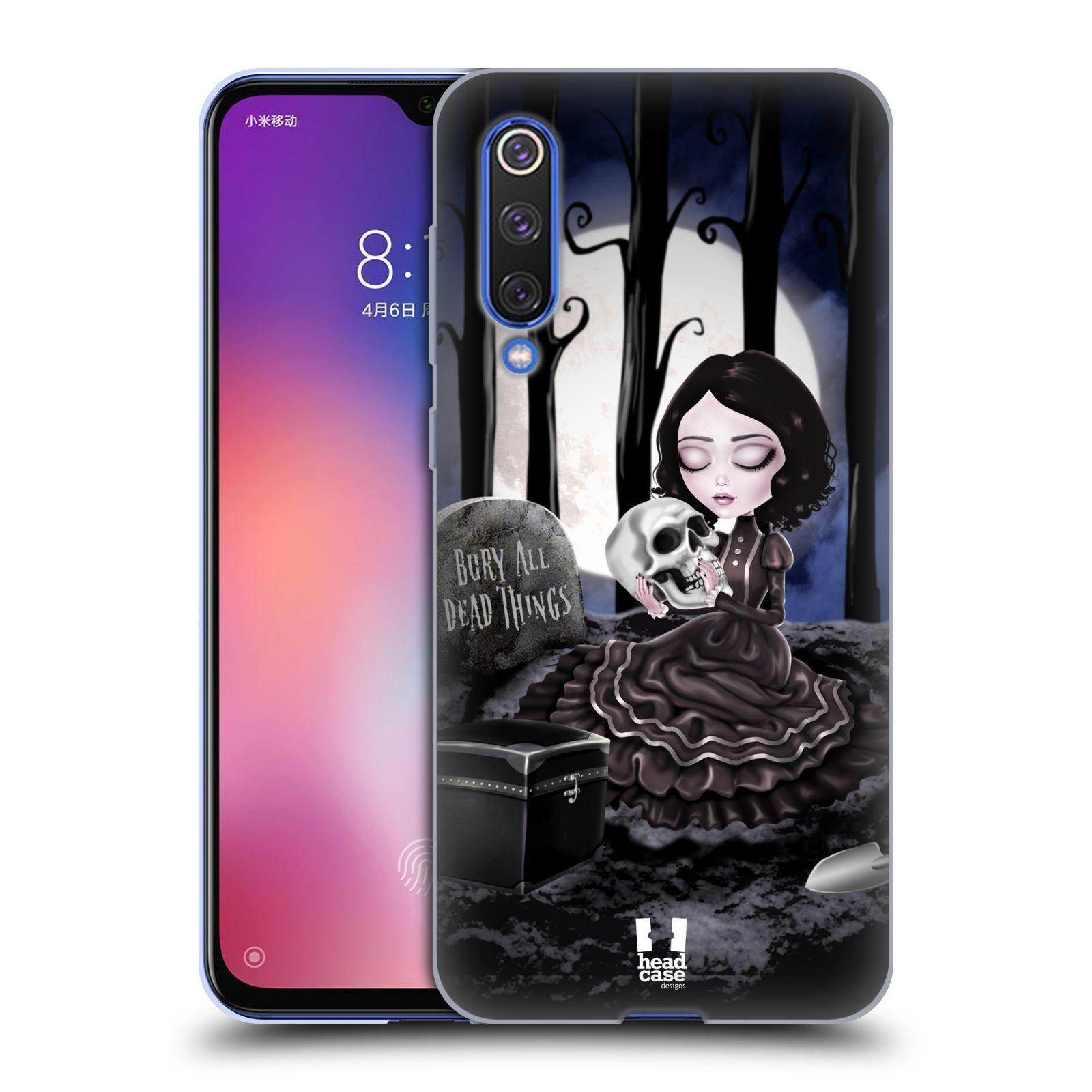 Silikonové pouzdro na mobil Xiaomi Mi 9 SE - Head Case - MACABRE HŘBITOV