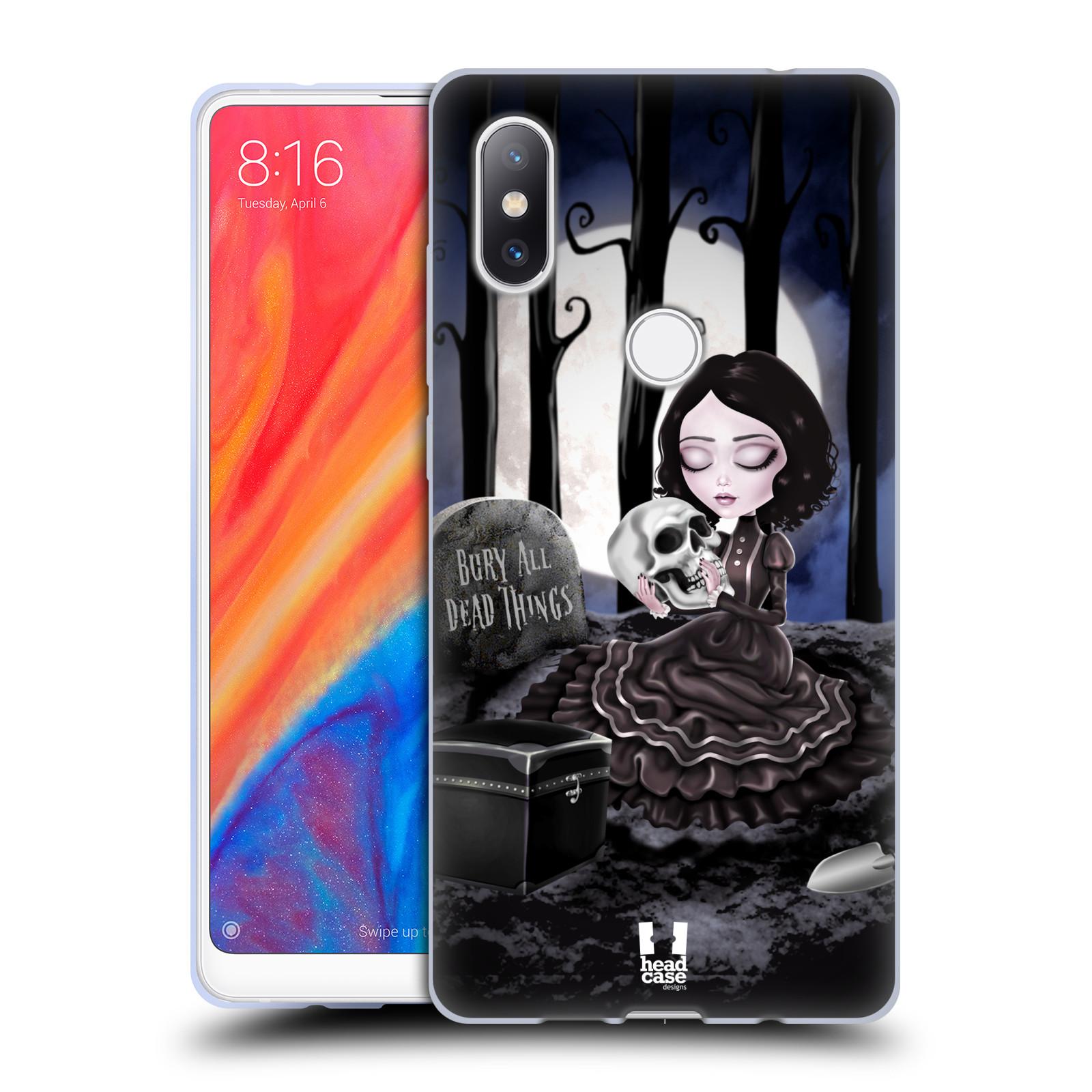 Silikonové pouzdro na mobil Xiaomi Mi Mix 2S - Head Case - MACABRE HŘBITOV