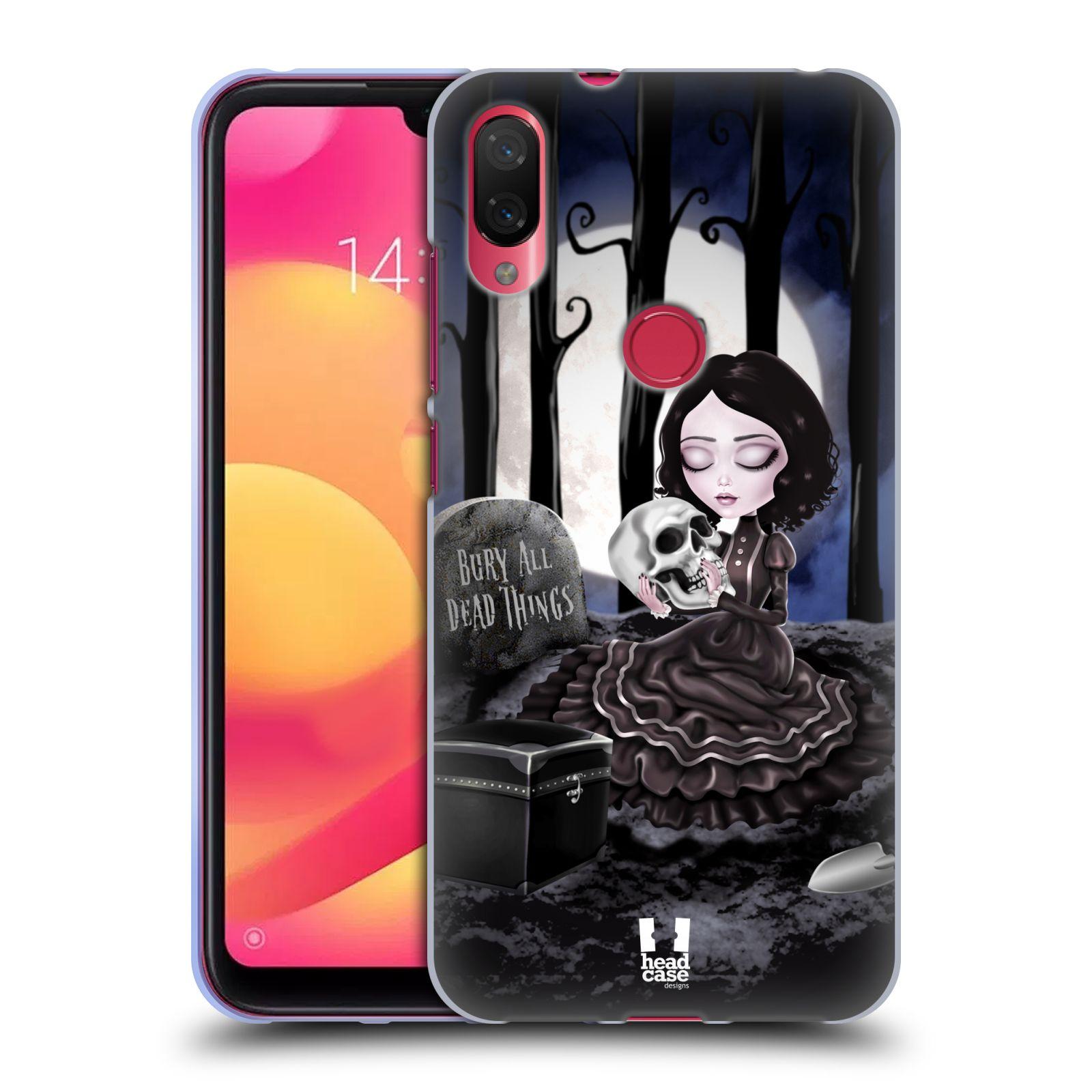 Silikonové pouzdro na mobil Xiaomi Mi Play - Head Case - MACABRE HŘBITOV