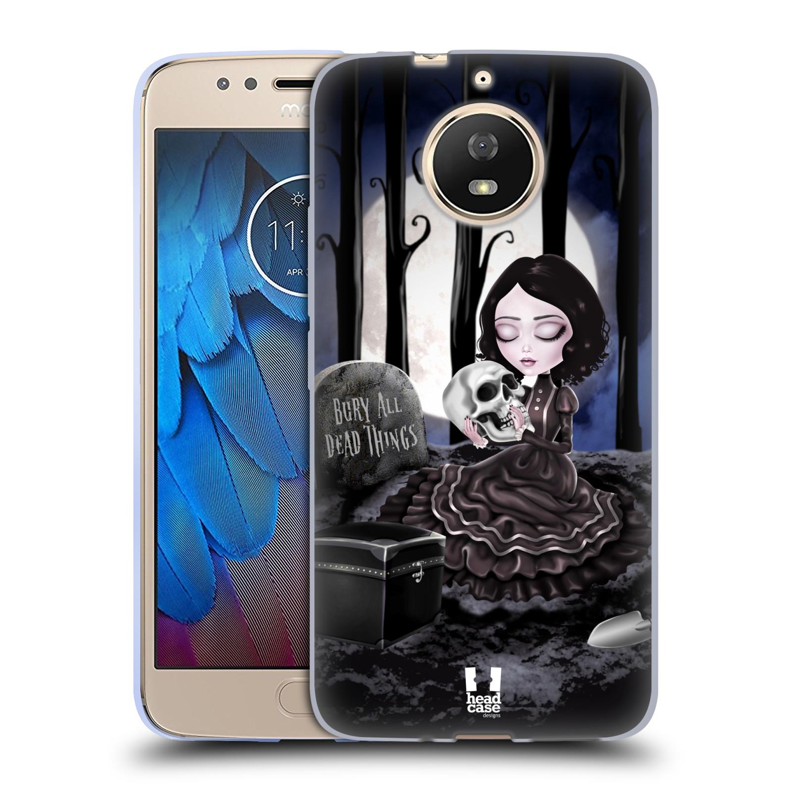 Silikonové pouzdro na mobil Lenovo Moto G5s - Head Case - MACABRE HŘBITOV