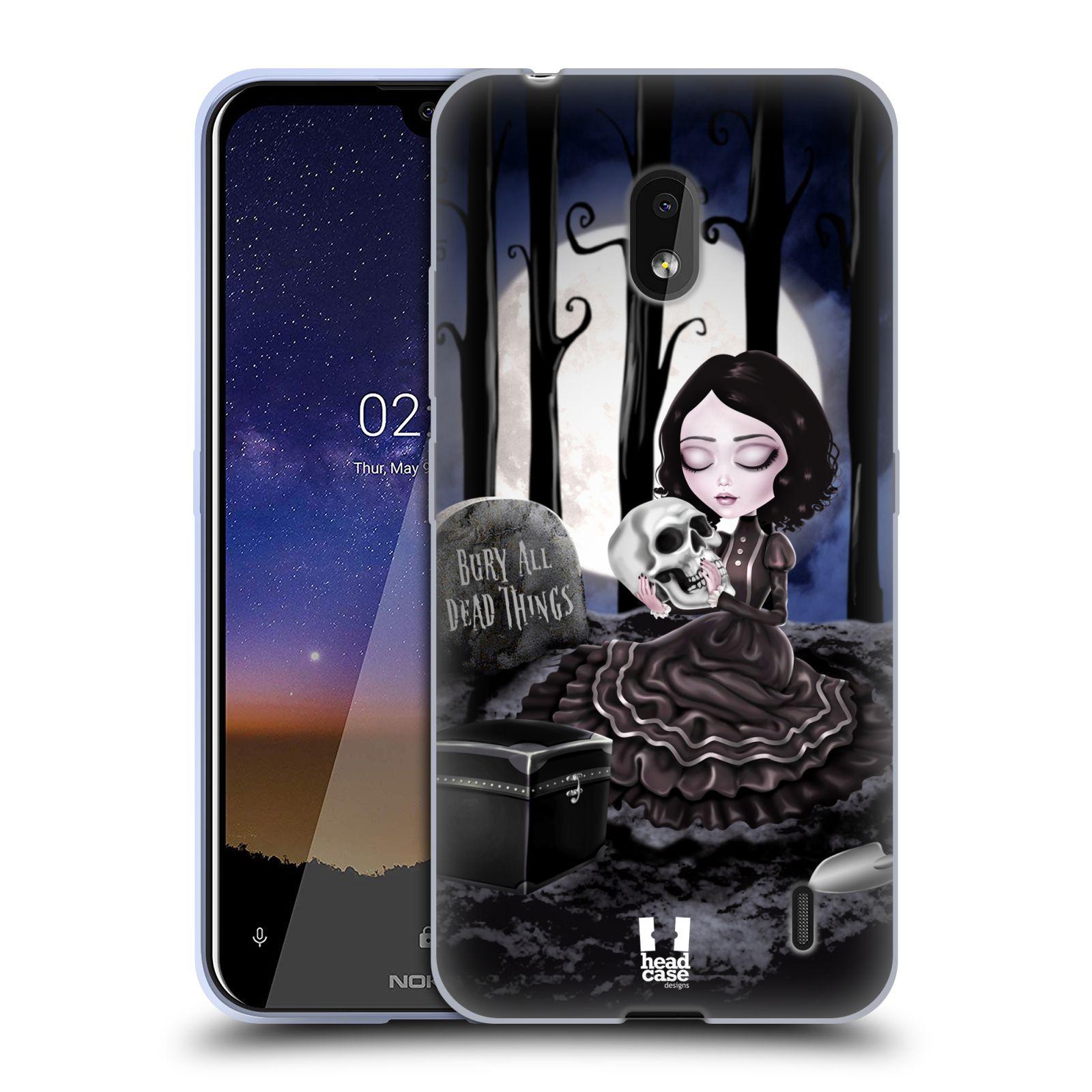 Silikonové pouzdro na mobil Nokia 2.2 - Head Case - MACABRE HŘBITOV