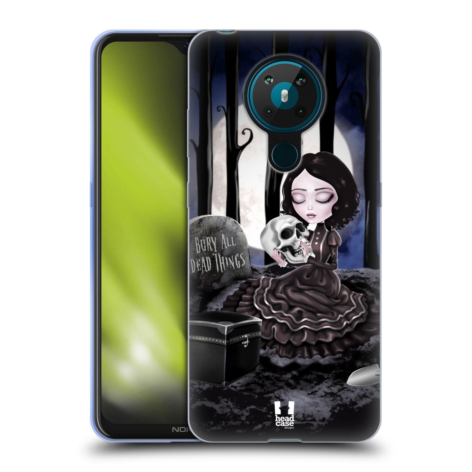 Silikonové pouzdro na mobil Nokia 5.3 - Head Case - MACABRE HŘBITOV
