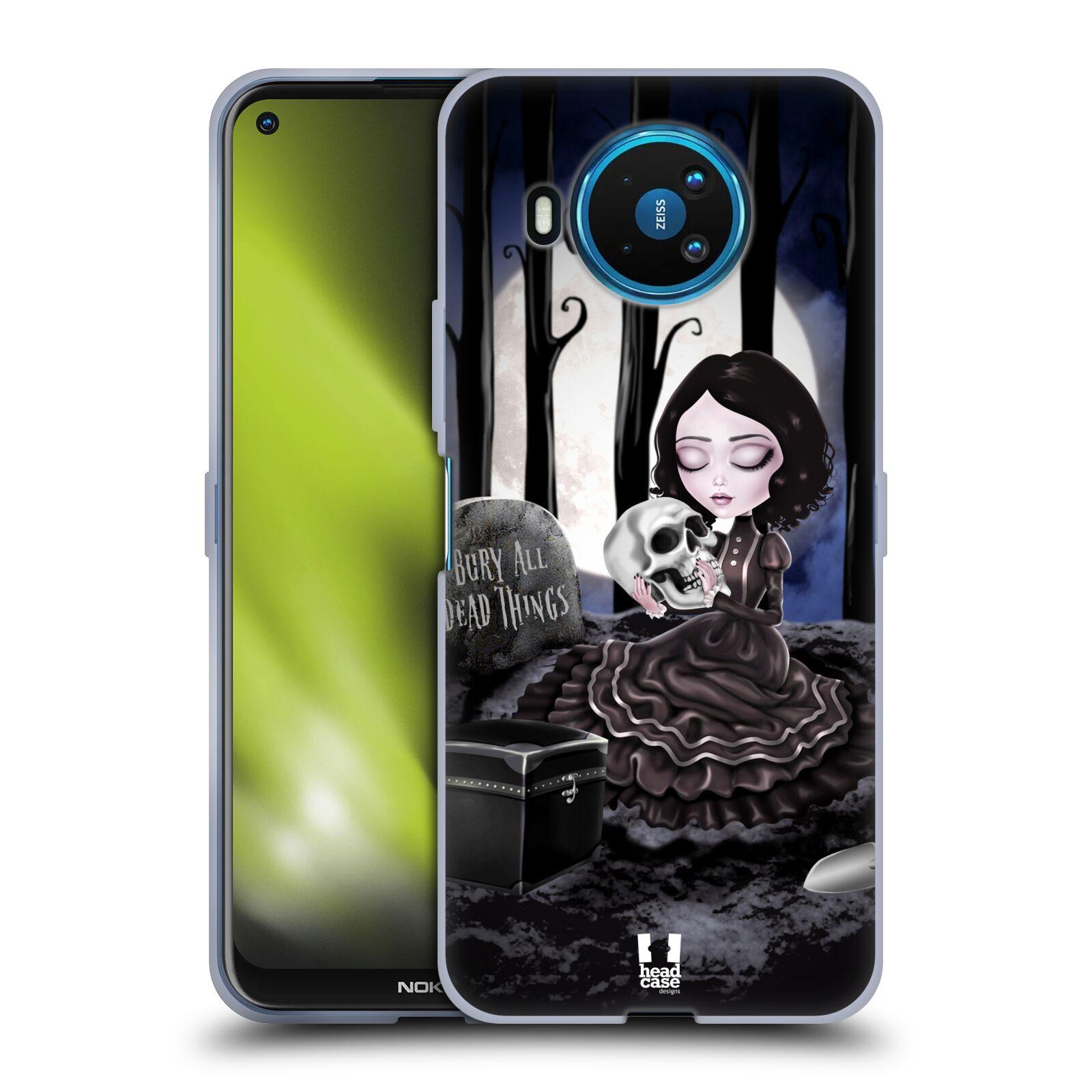 Silikonové pouzdro na mobil Nokia 8.3 5G - Head Case - MACABRE HŘBITOV