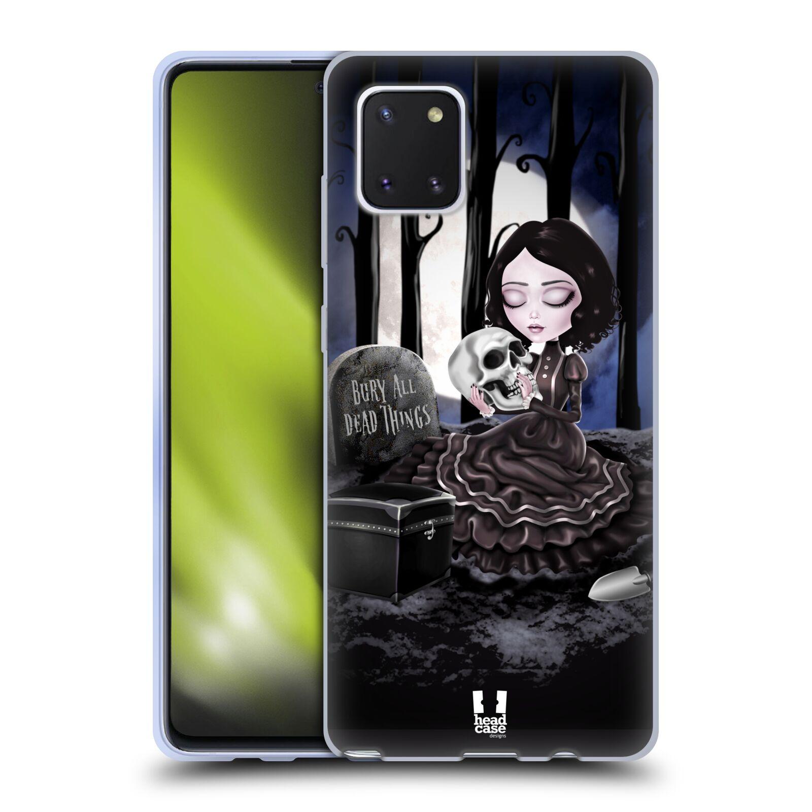 Silikonové pouzdro na mobil Samsung Galaxy Note 10 Lite - Head Case - MACABRE HŘBITOV