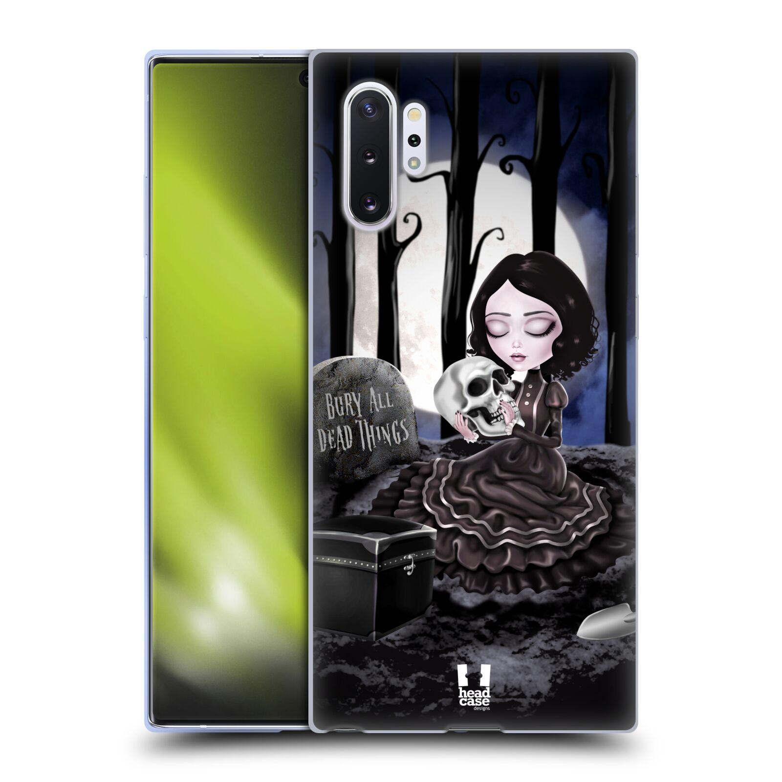 Silikonové pouzdro na mobil Samsung Galaxy Note 10 Plus - Head Case - MACABRE HŘBITOV