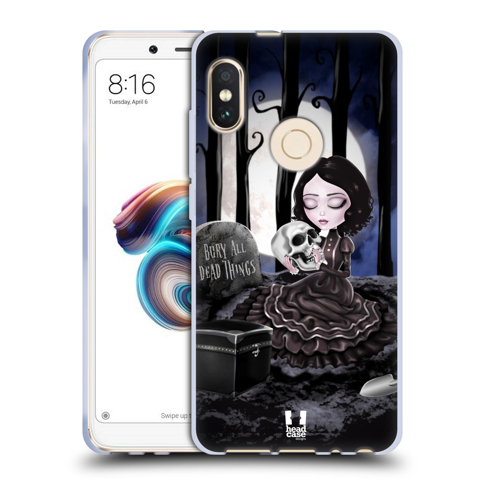 Silikonové pouzdro na mobil Xiaomi Redmi Note 5 - Head Case - MACABRE HŘBITOV