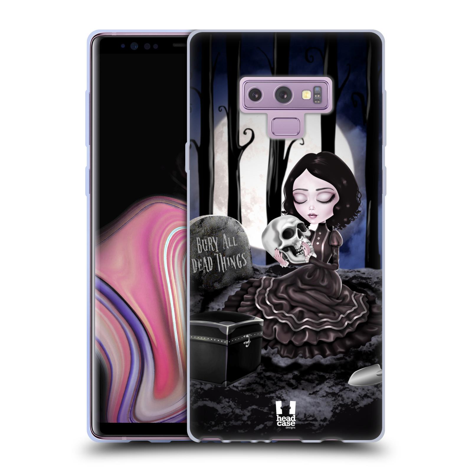 Silikonové pouzdro na mobil Samsung Galaxy Note 9 - Head Case - MACABRE HŘBITOV