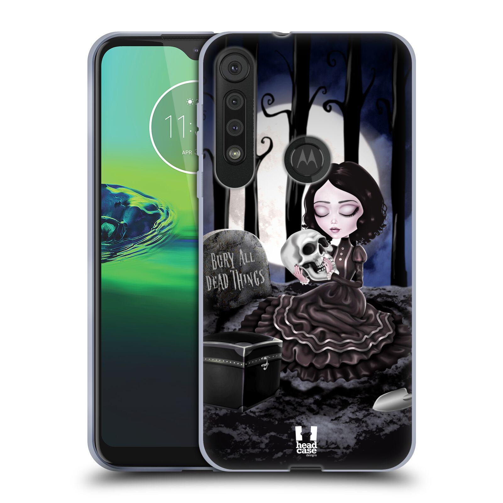 Silikonové pouzdro na mobil Motorola One Macro - Head Case - MACABRE HŘBITOV