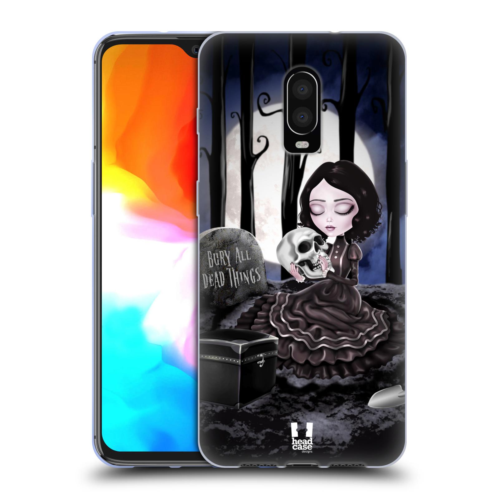 Silikonové pouzdro na mobil OnePlus 6T - Head Case - MACABRE HŘBITOV