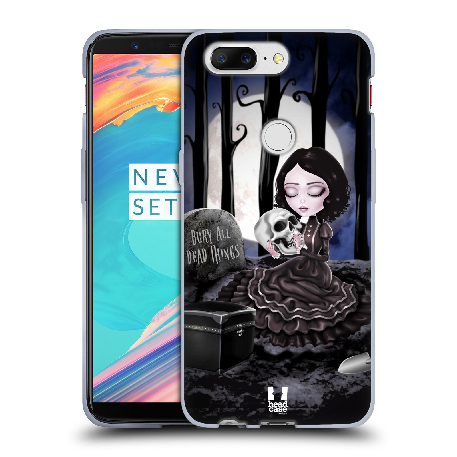 Silikonové pouzdro na mobil OnePlus 5T - Head Case - MACABRE HŘBITOV