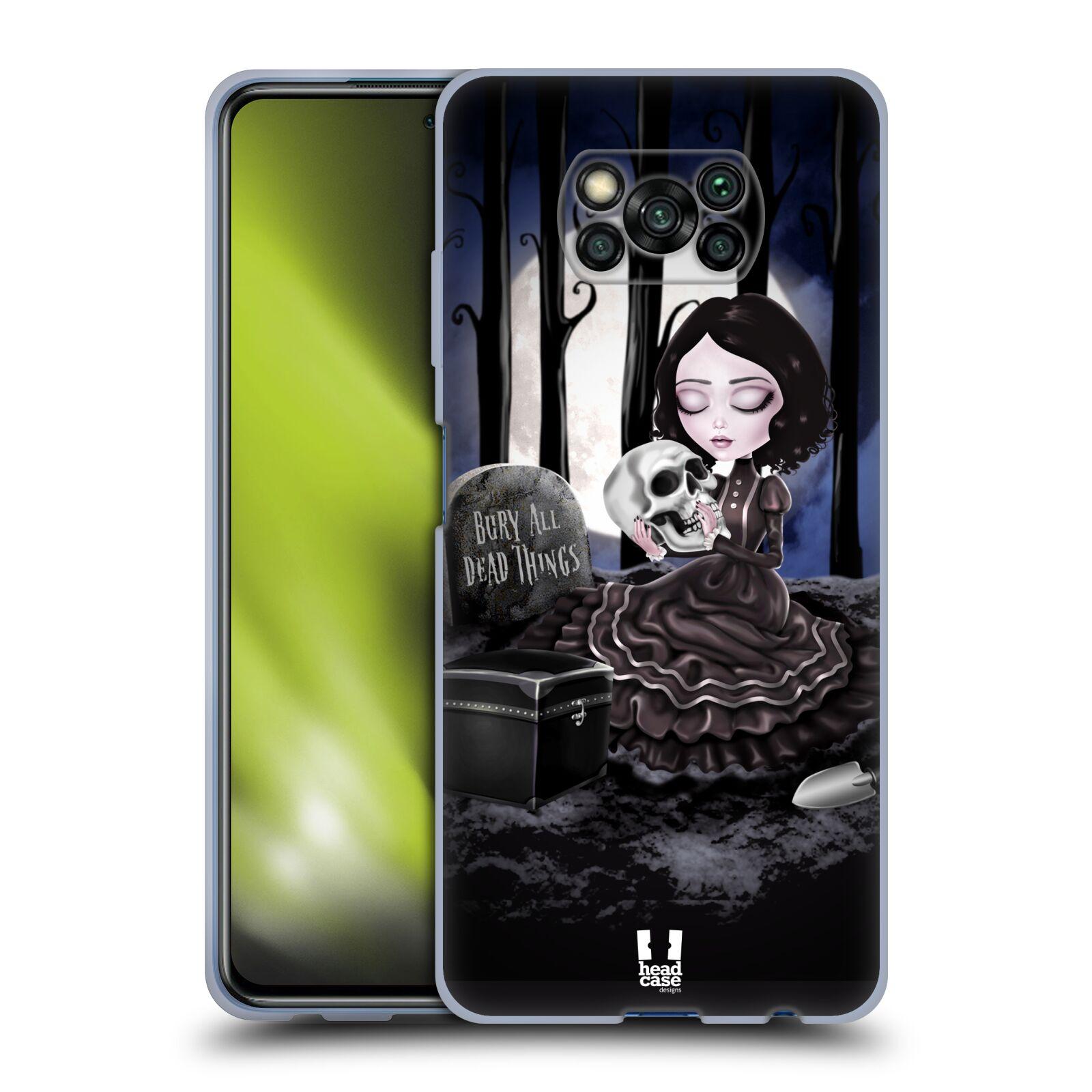 Silikonové pouzdro na mobil Xiaomi Poco X3 NFC - Head Case - MACABRE HŘBITOV