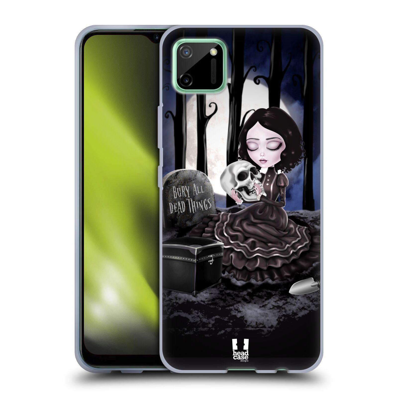 Silikonové pouzdro na mobil Realme C11 - Head Case - MACABRE HŘBITOV