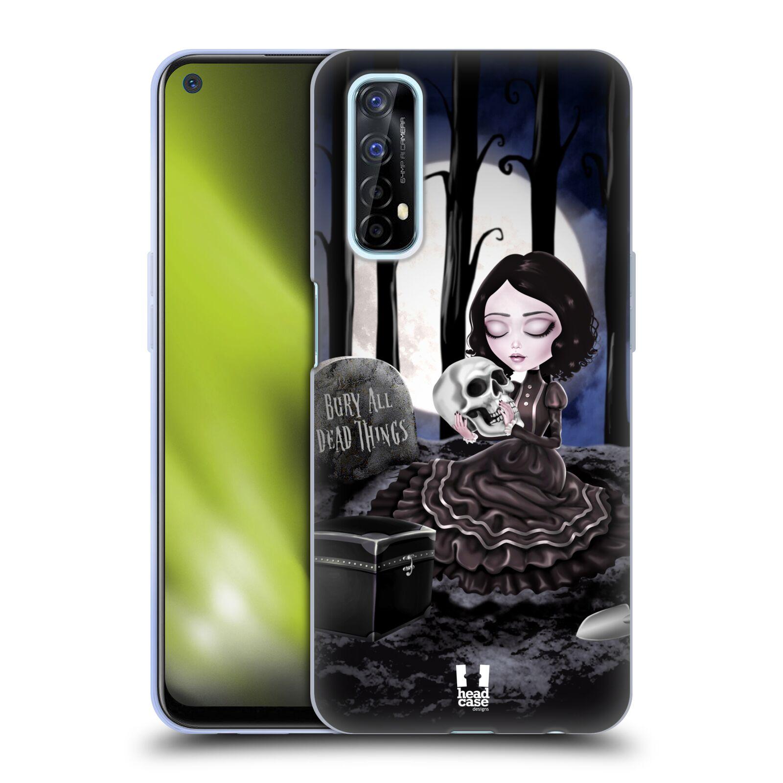 Silikonové pouzdro na mobil Realme 7 - Head Case - MACABRE HŘBITOV