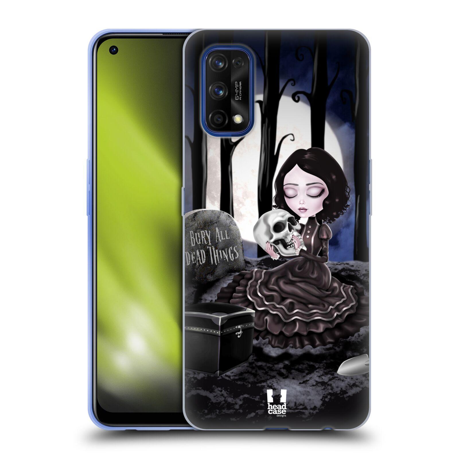 Silikonové pouzdro na mobil Realme 7 Pro - Head Case - MACABRE HŘBITOV