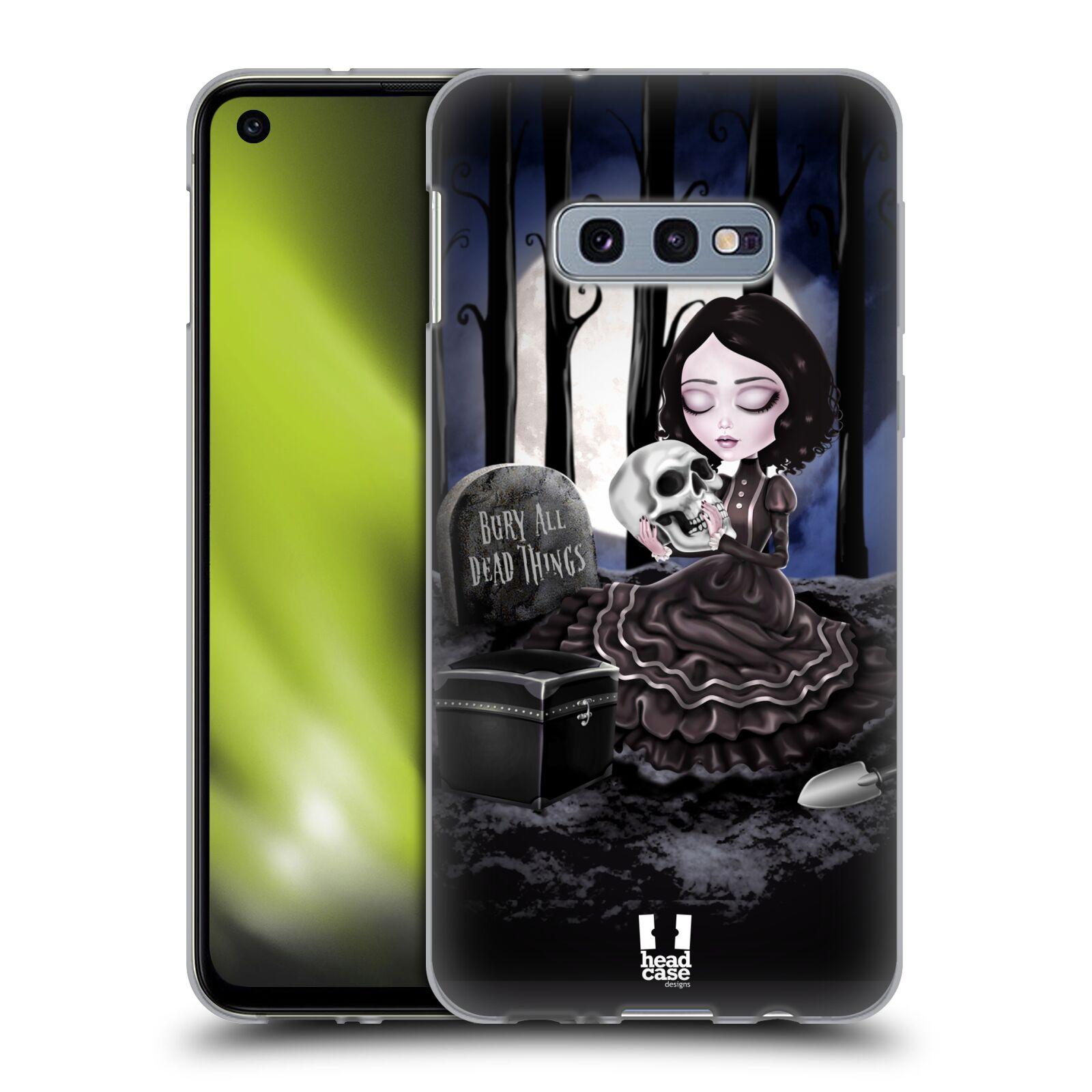 Silikonové pouzdro na mobil Samsung Galaxy S10e - Head Case - MACABRE HŘBITOV