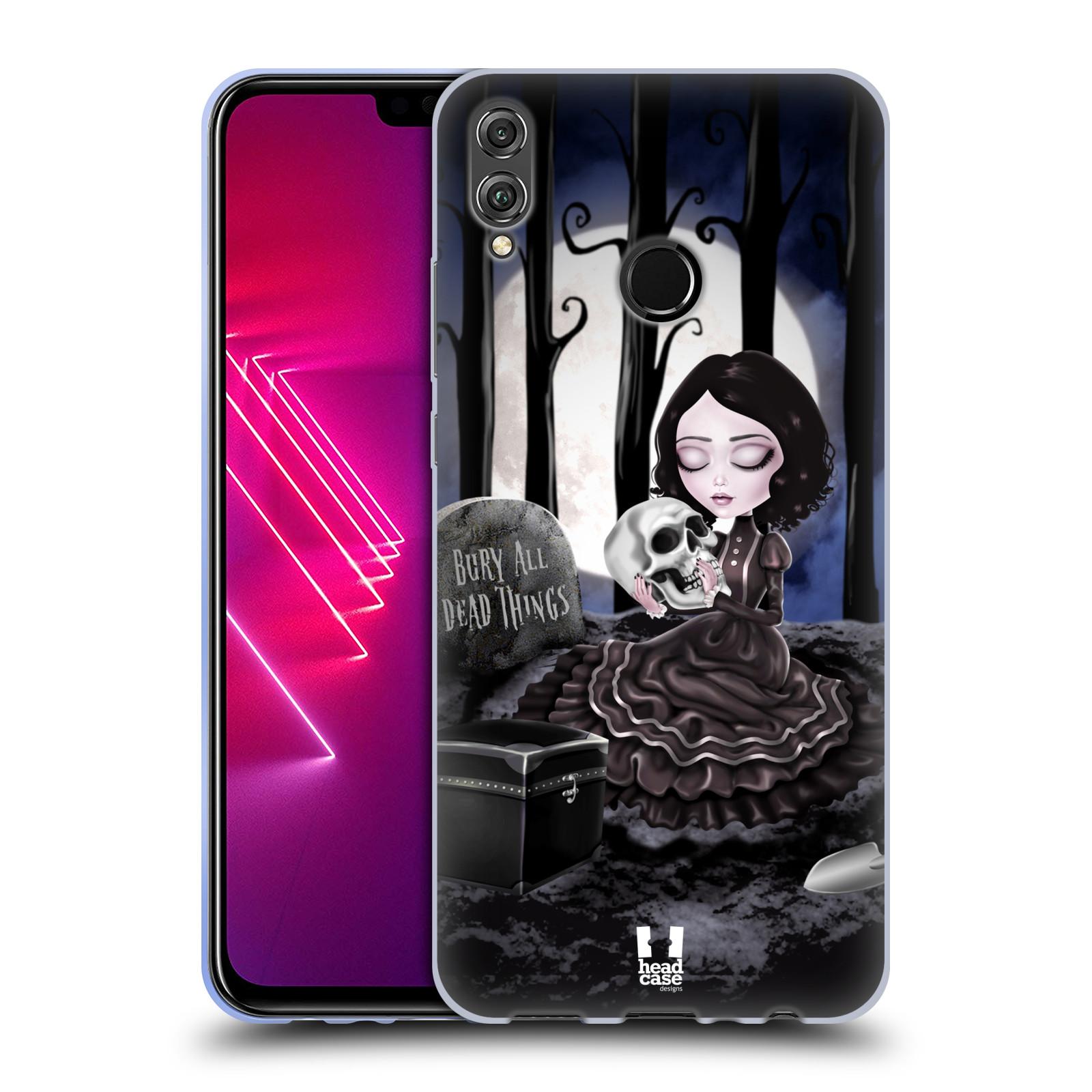 Silikonové pouzdro na mobil Honor View 10 Lite - Head Case - MACABRE HŘBITOV