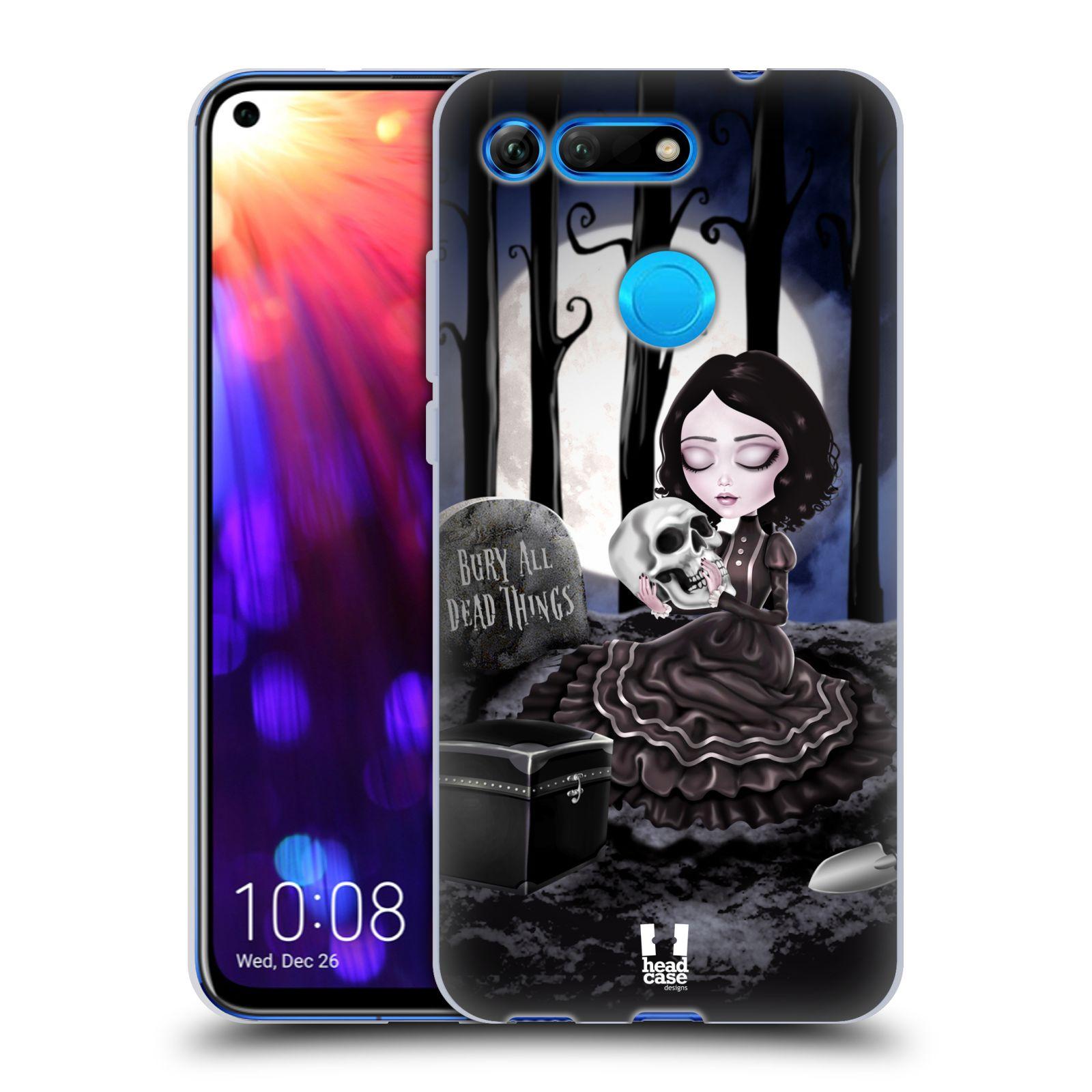 Silikonové pouzdro na mobil Honor View 20 - Head Case - MACABRE HŘBITOV