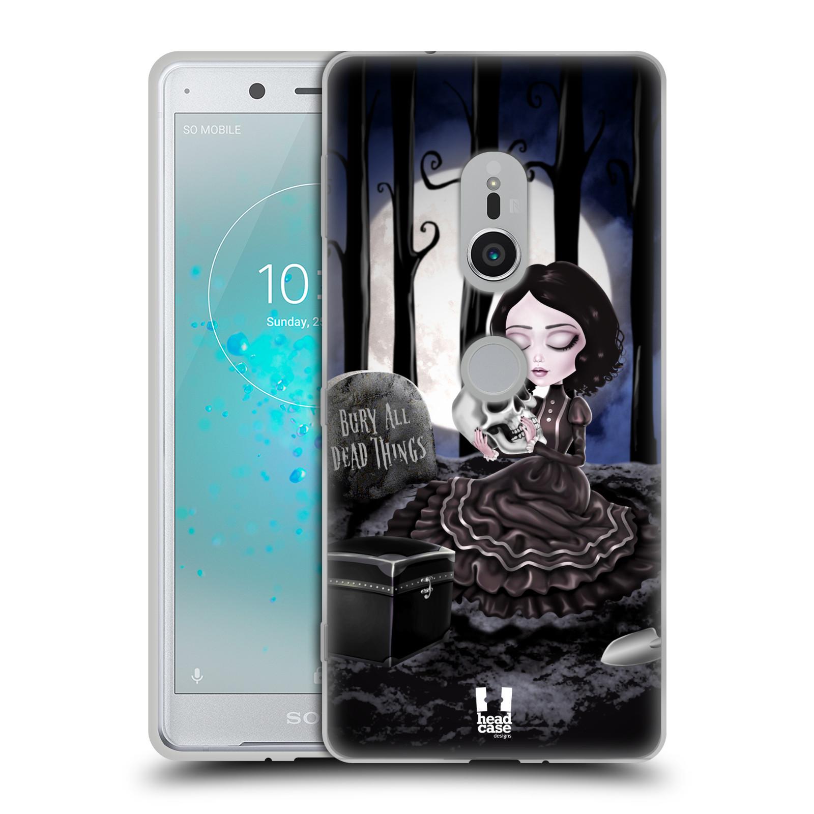 Silikonové pouzdro na mobil Sony Xperia XZ2 - Head Case - MACABRE HŘBITOV