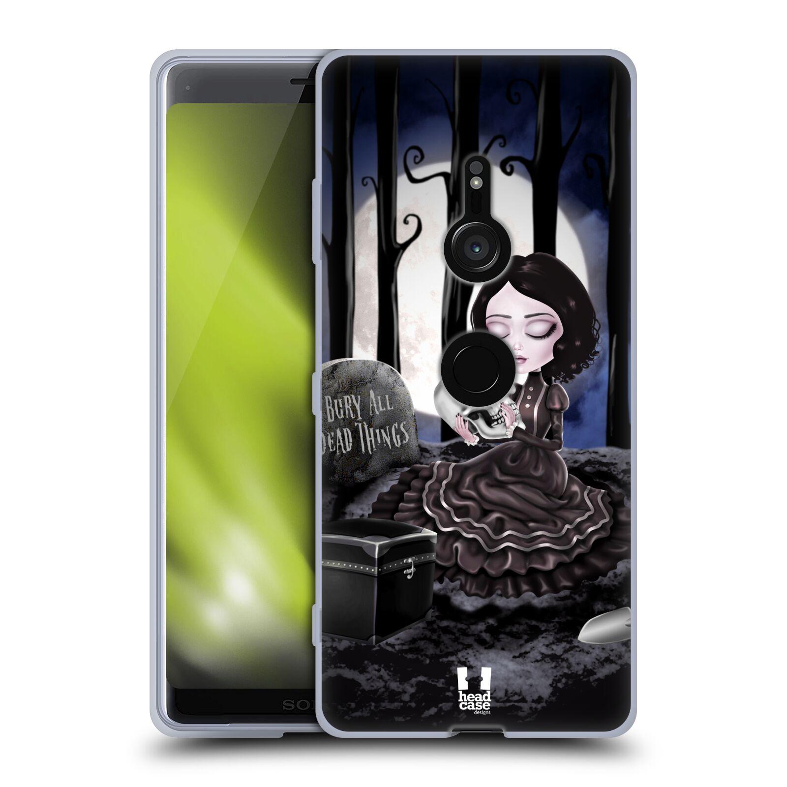 Silikonové pouzdro na mobil Sony Xperia XZ3 - Head Case - MACABRE HŘBITOV