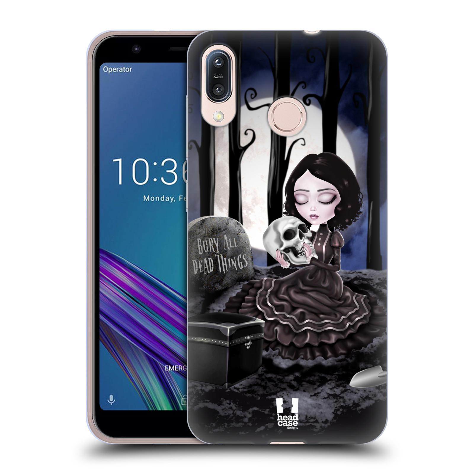 Silikonové pouzdro na mobil Asus Zenfone Max M1 ZB555KL - Head Case - MACABRE HŘBITOV