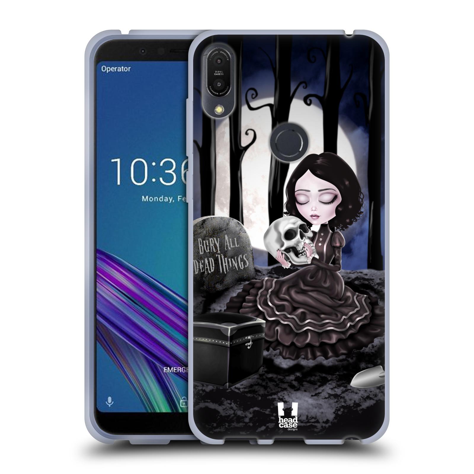 Silikonové pouzdro na mobil Asus ZenFone Max Pro (M1) - Head Case - MACABRE HŘBITOV