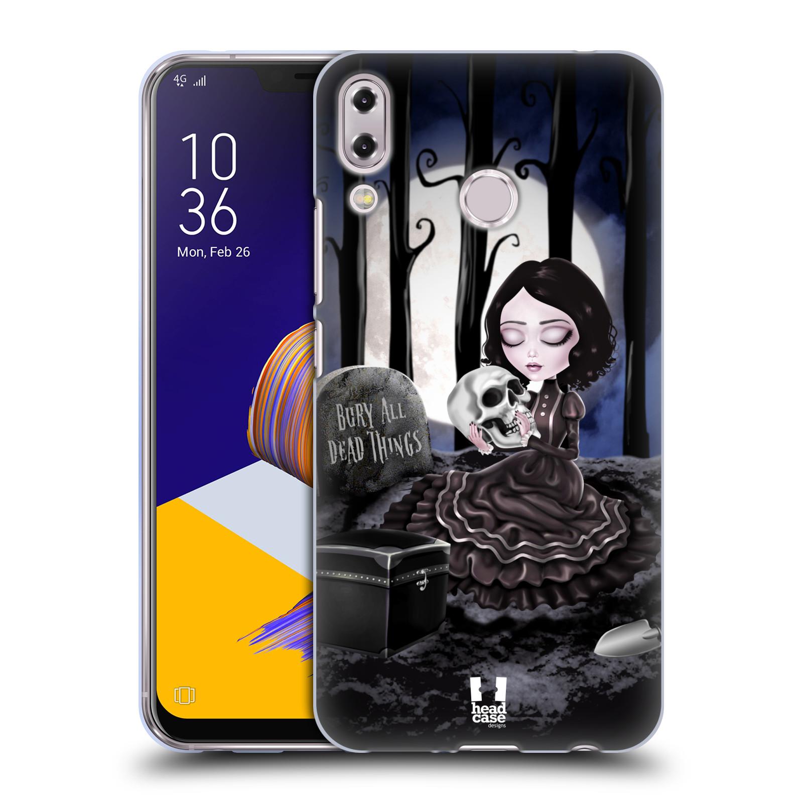 Silikonové pouzdro na mobil Asus Zenfone 5z ZS620KL - Head Case - MACABRE HŘBITOV