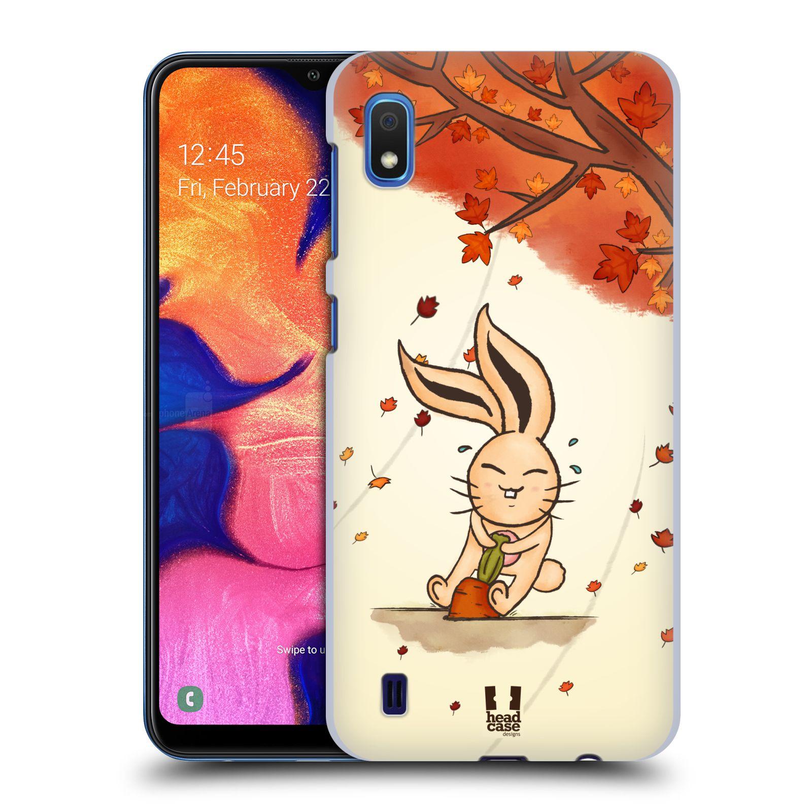 Plastové pouzdro na mobil Samsung Galaxy A10 - Head Case - PODZIMNÍ KRÁLÍK