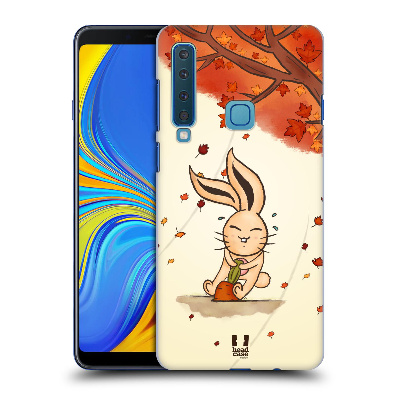 Plastové pouzdro na mobil Samsung Galaxy A9 (2018) - Head Case - PODZIMNÍ KRÁLÍK