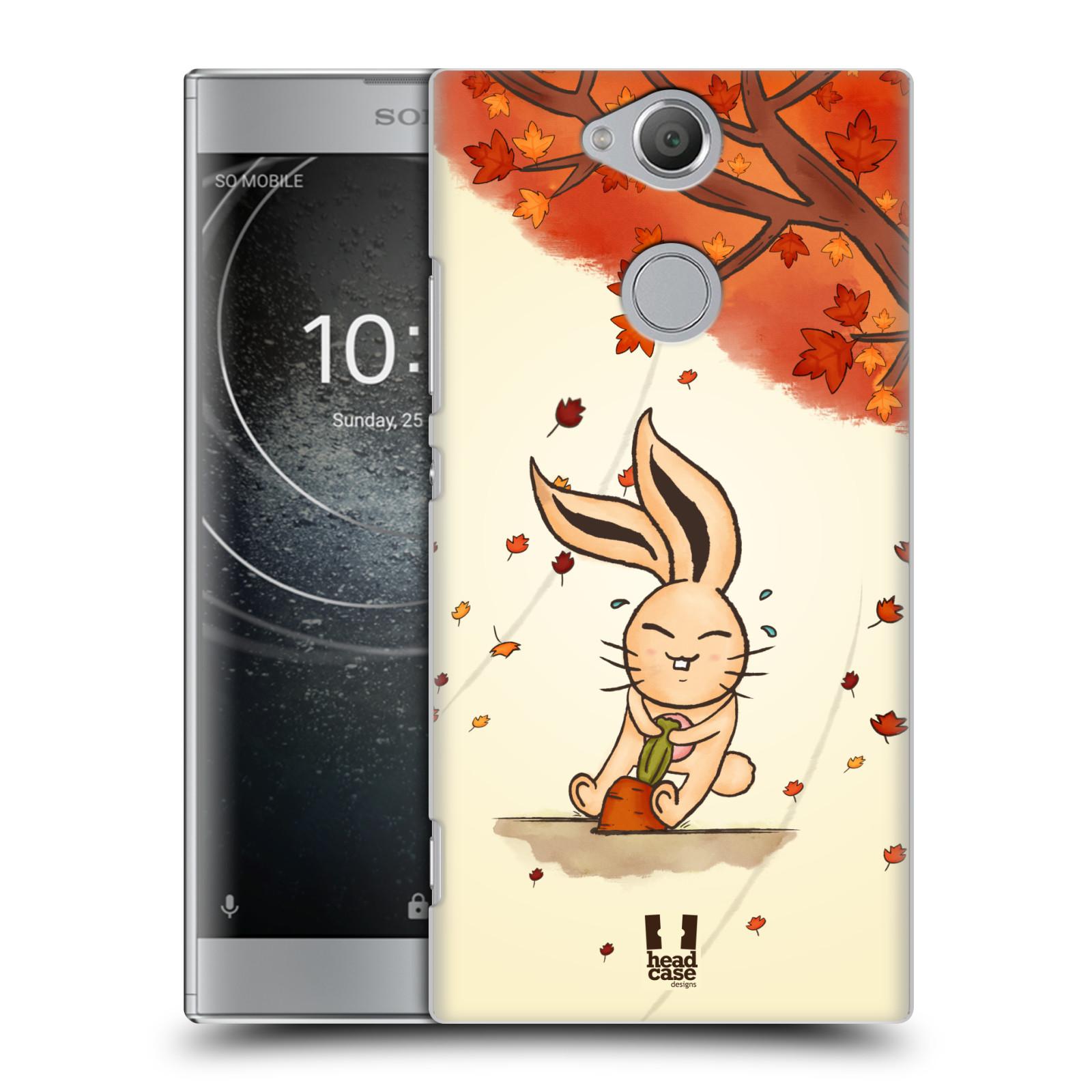 Plastové pouzdro na mobil Sony Xperia XA2 - Head Case - PODZIMNÍ KRÁLÍK