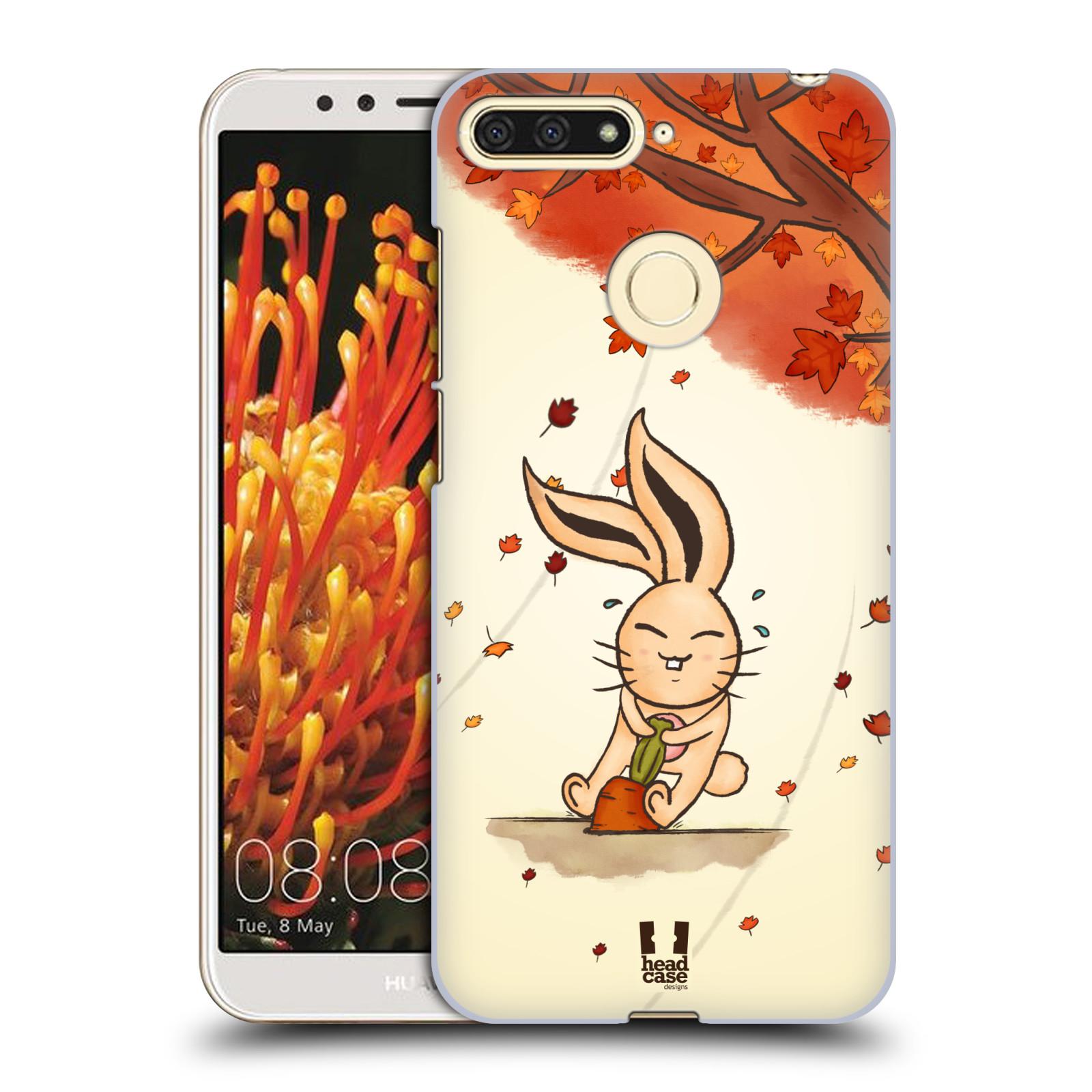 Plastové pouzdro na mobil Huawei Y6 Prime 2018 - Head Case - PODZIMNÍ KRÁLÍK