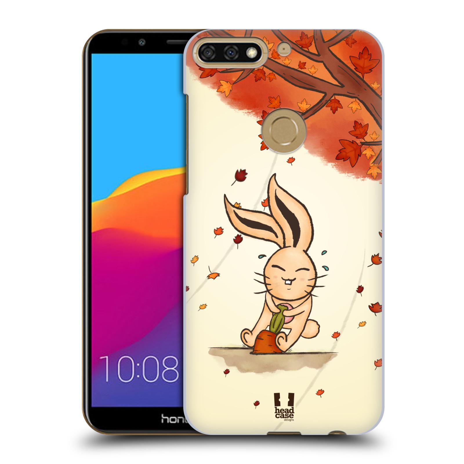 Plastové pouzdro na mobil Huawei Y7 Prime 2018 - Head Case - PODZIMNÍ KRÁLÍK