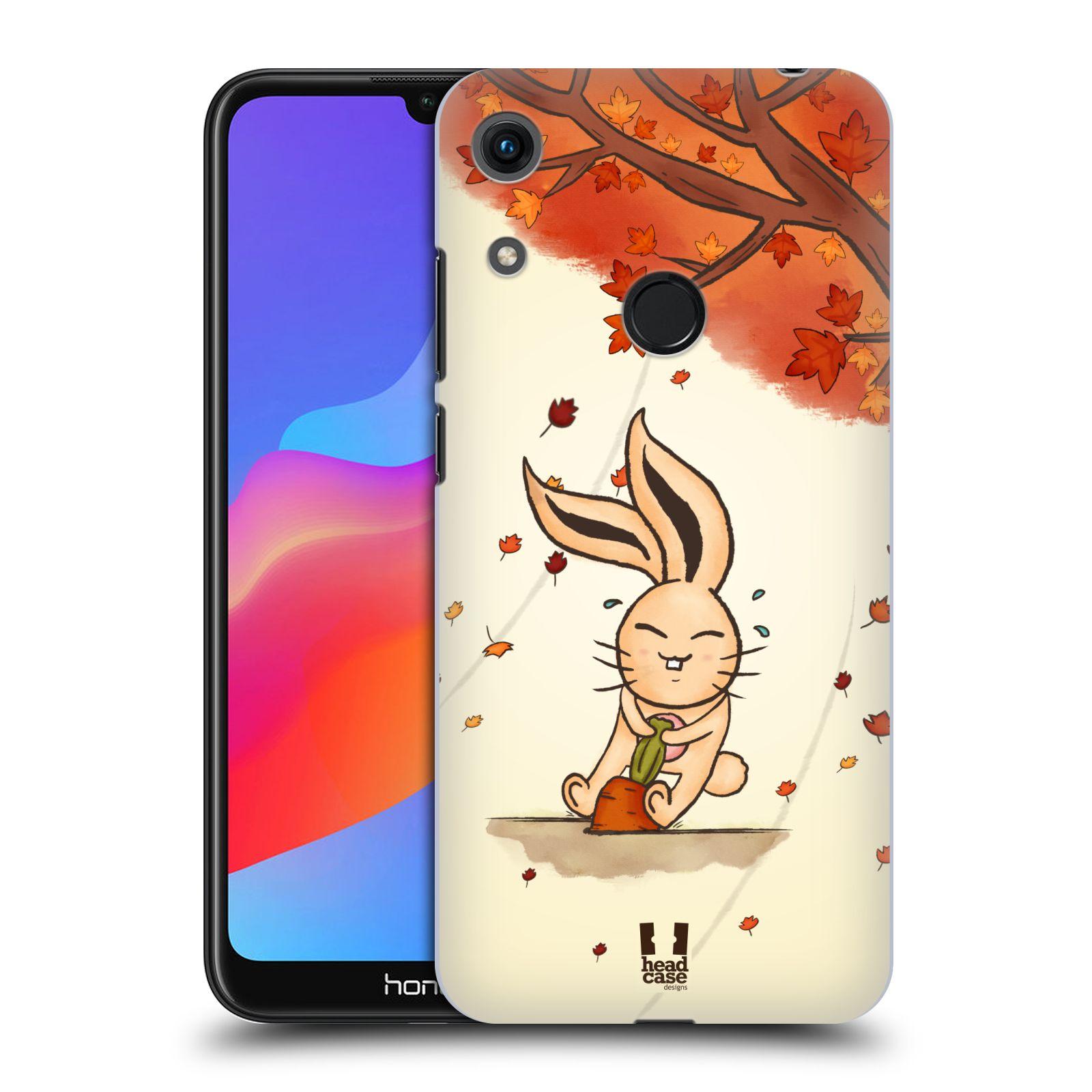 Plastové pouzdro na mobil Honor 8A - Head Case - PODZIMNÍ KRÁLÍK