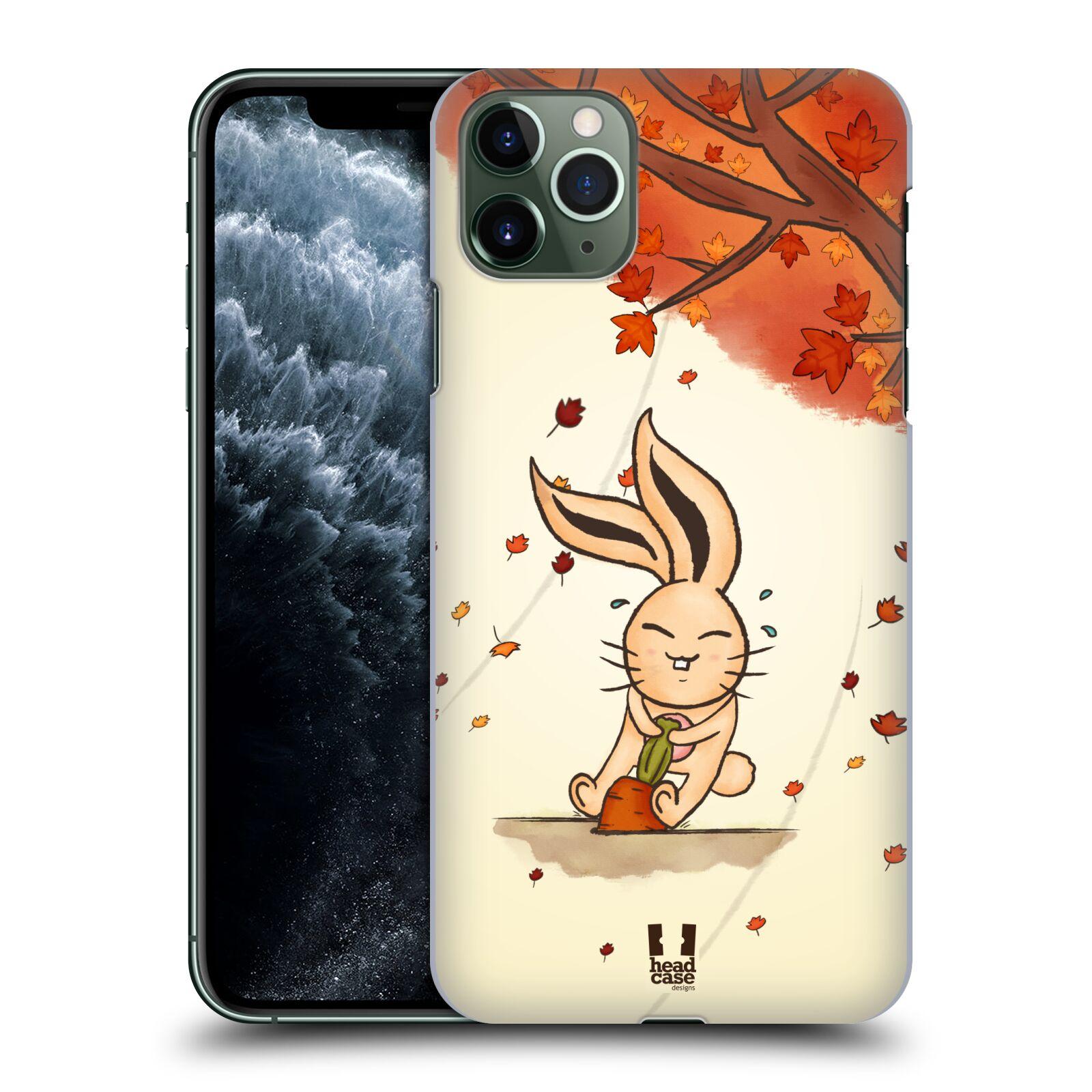 Plastové pouzdro na mobil Apple iPhone 11 Pro Max - Head Case - PODZIMNÍ KRÁLÍK