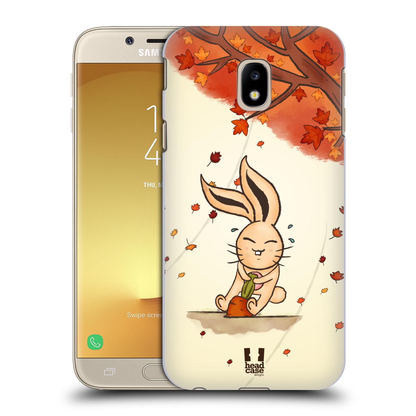 Plastové pouzdro na mobil Samsung Galaxy J3 (2017) - Head Case - PODZIMNÍ KRÁLÍK