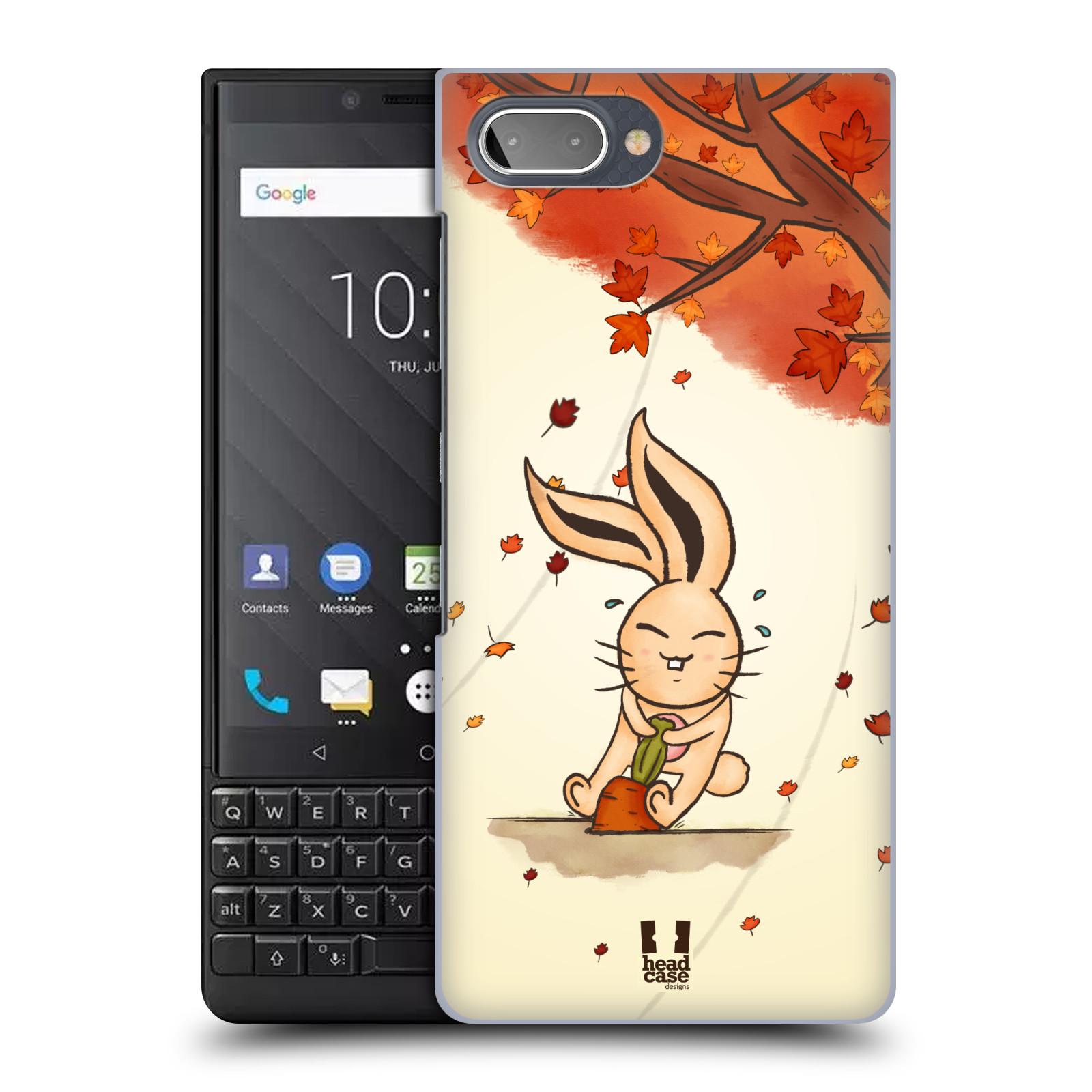 Plastové pouzdro na mobil Blackberry Key 2 - Head Case - PODZIMNÍ KRÁLÍK