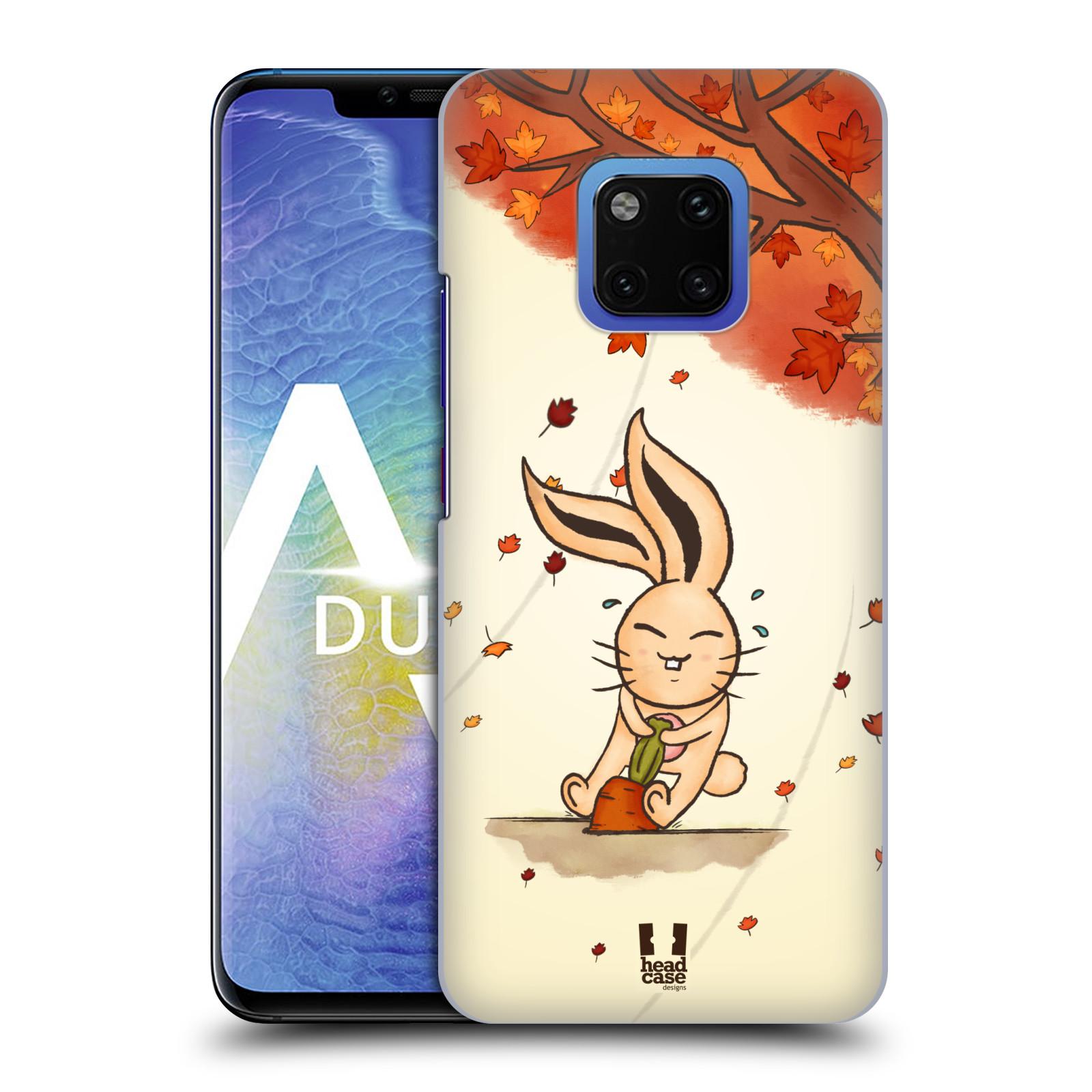 Plastové pouzdro na mobil Huawei Mate 20 Pro - Head Case - PODZIMNÍ KRÁLÍK