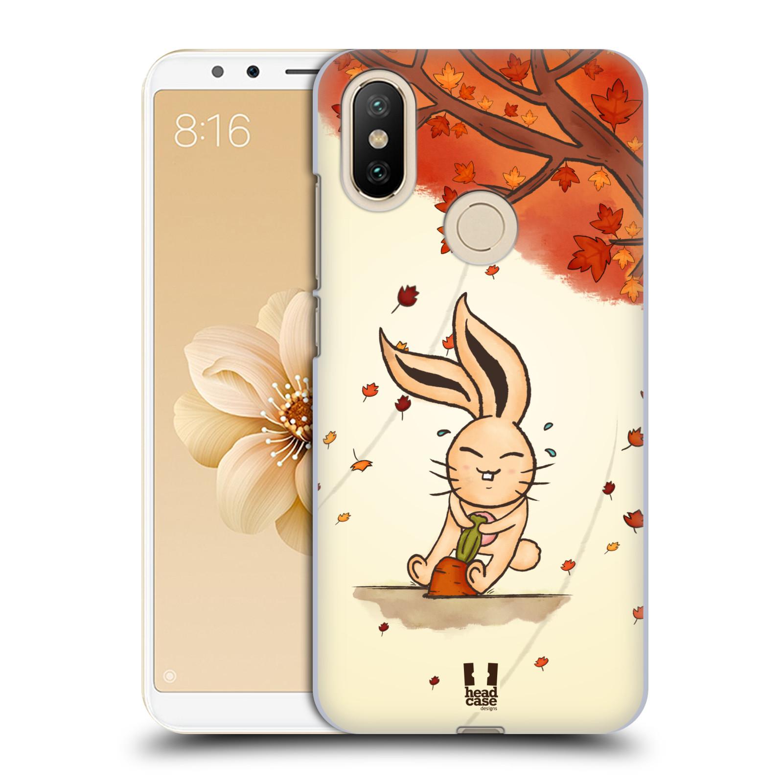 Plastové pouzdro na mobil Xiaomi Mi A2 - Head Case - PODZIMNÍ KRÁLÍK