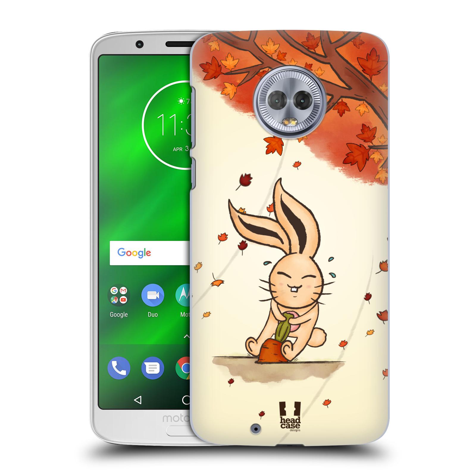 Plastové pouzdro na mobil Motorola Moto G6 - Head Case - PODZIMNÍ KRÁLÍK