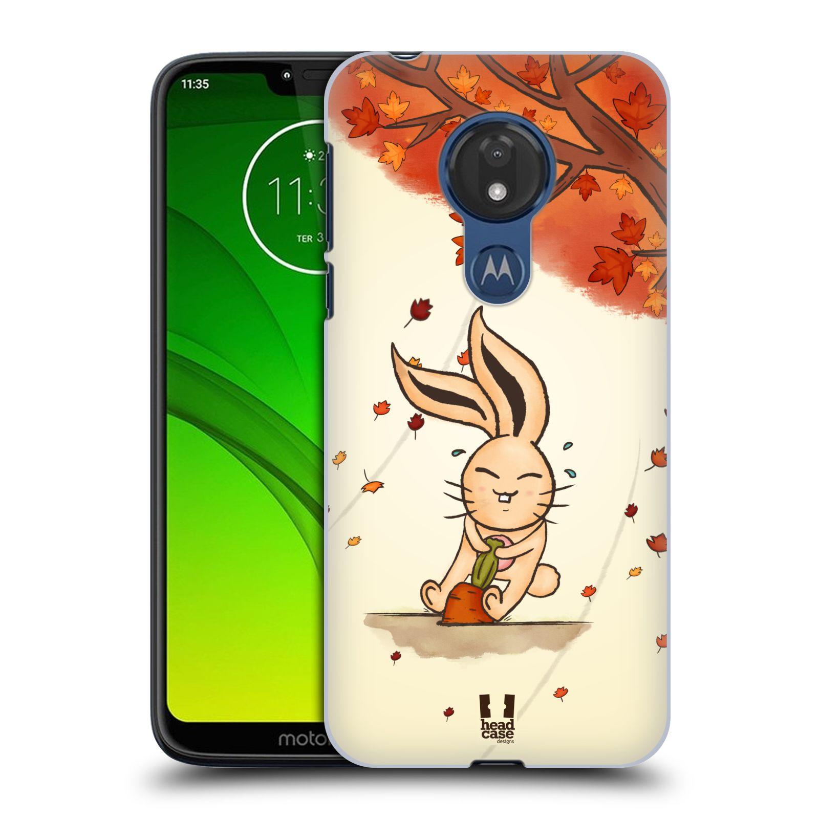 Plastové pouzdro na mobil Motorola Moto G7 Power - Head Case - PODZIMNÍ KRÁLÍK