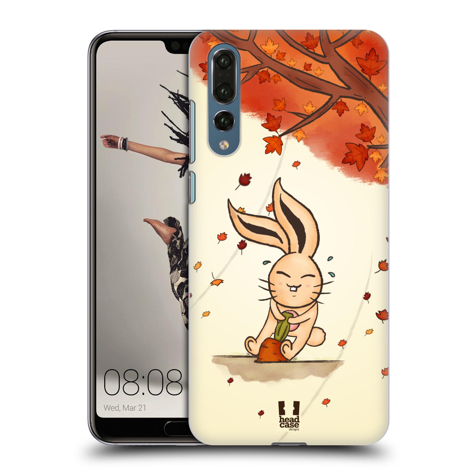 Plastové pouzdro na mobil Huawei P20 Pro - Head Case - PODZIMNÍ KRÁLÍK