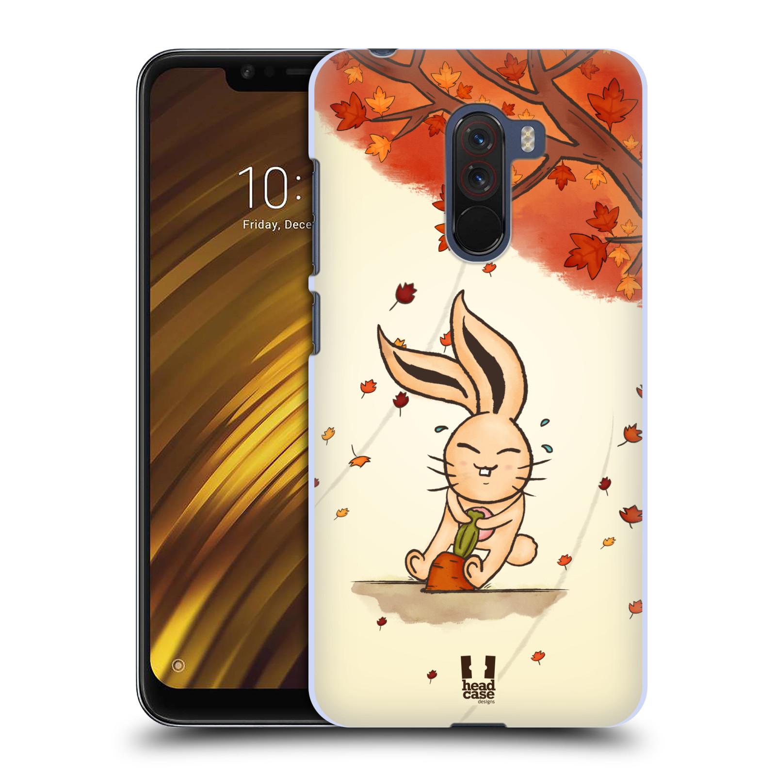 Plastové pouzdro na mobil Xiaomi Pocophone F1 - Head Case - PODZIMNÍ KRÁLÍK