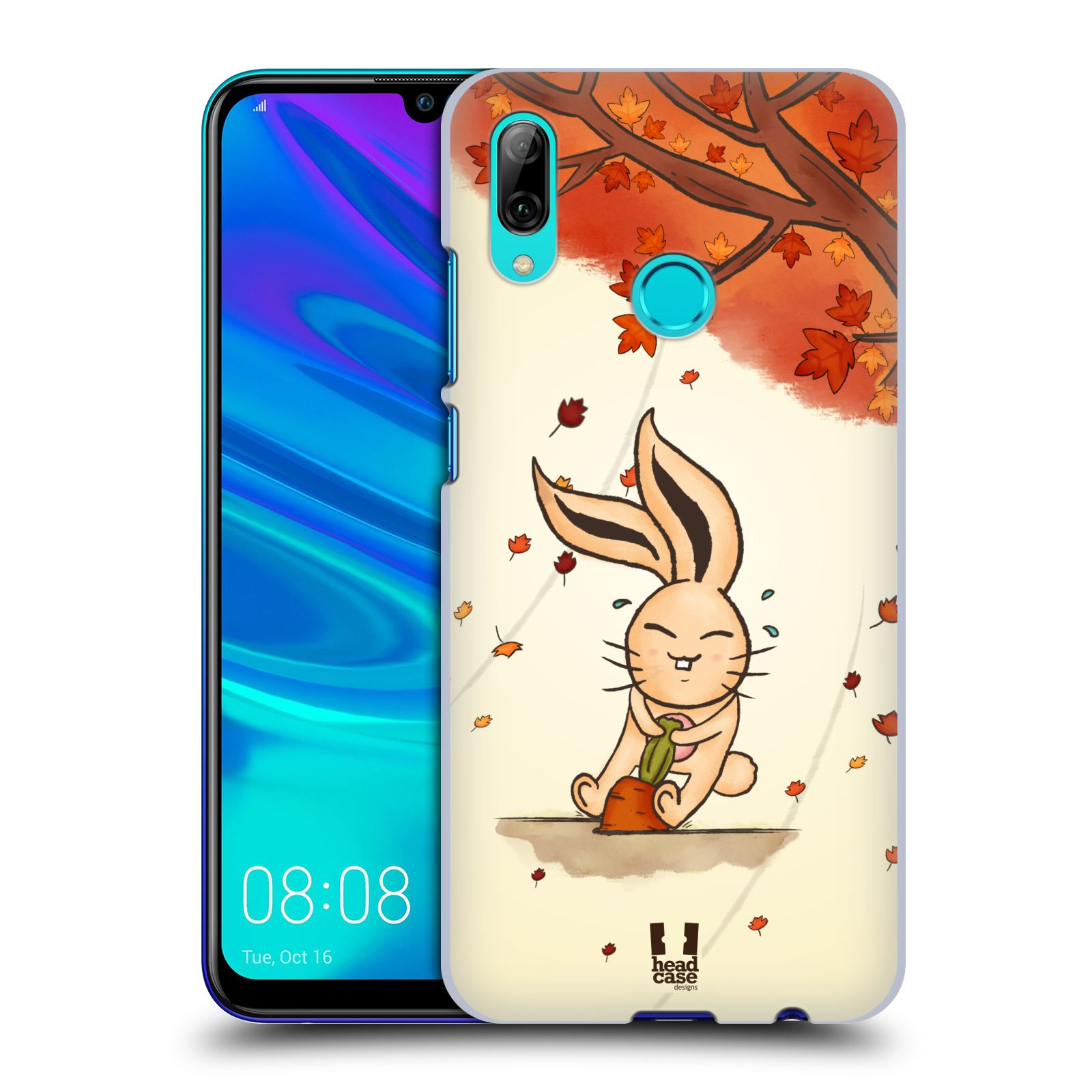 Plastové pouzdro na mobil Huawei P Smart (2019) - Head Case - PODZIMNÍ KRÁLÍK