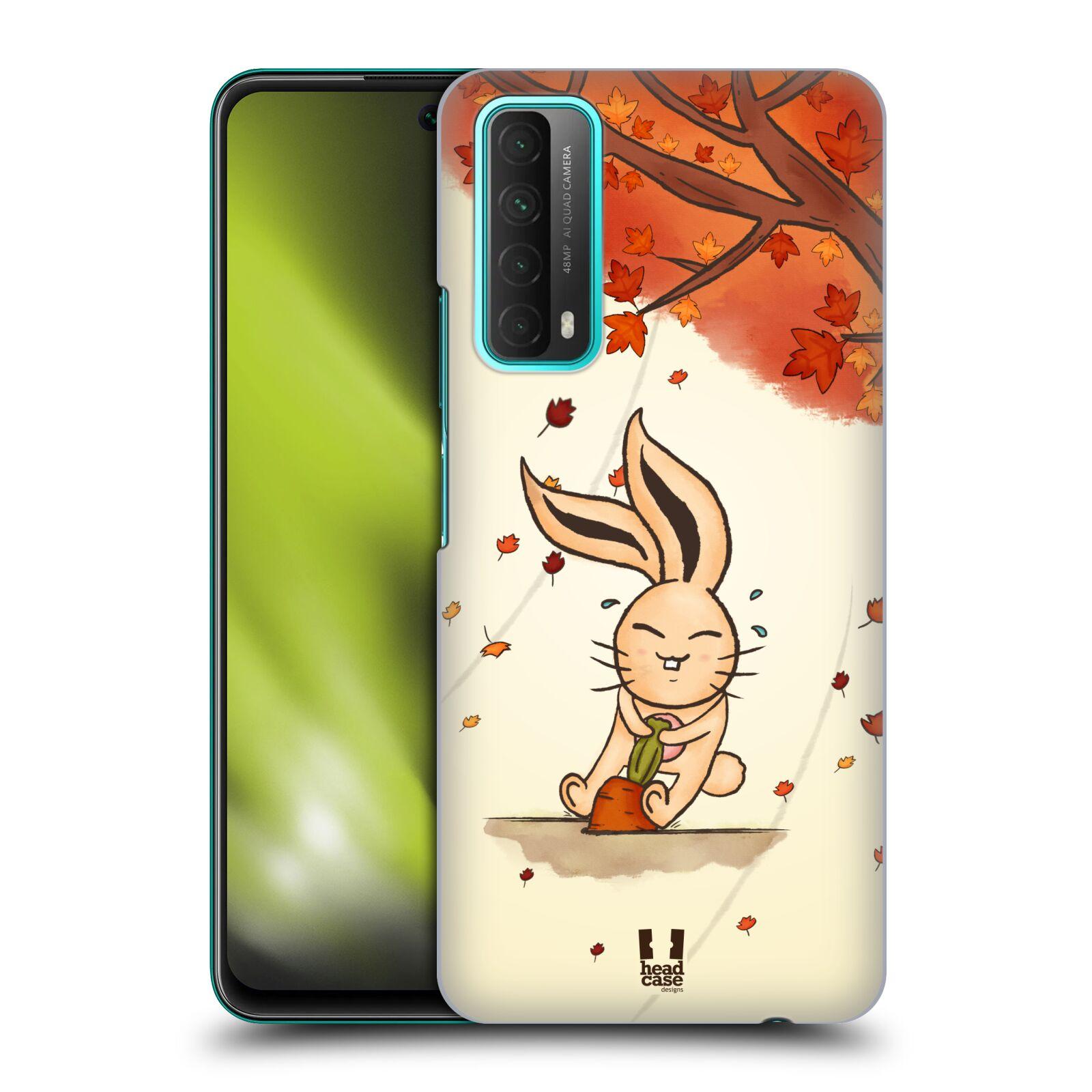 Plastové pouzdro na mobil Huawei P Smart (2021) - Head Case - PODZIMNÍ KRÁLÍK