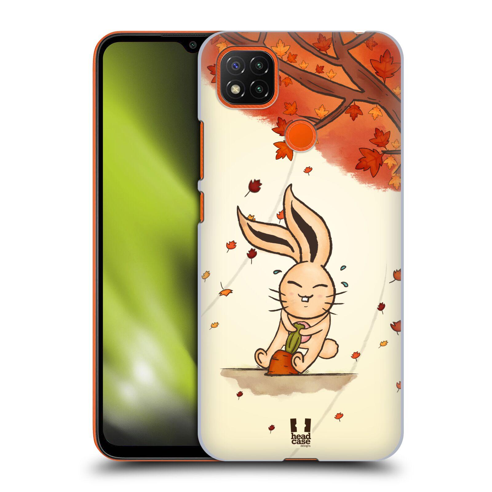 Plastové pouzdro na mobil Xiaomi Redmi 9C - Head Case - PODZIMNÍ KRÁLÍK