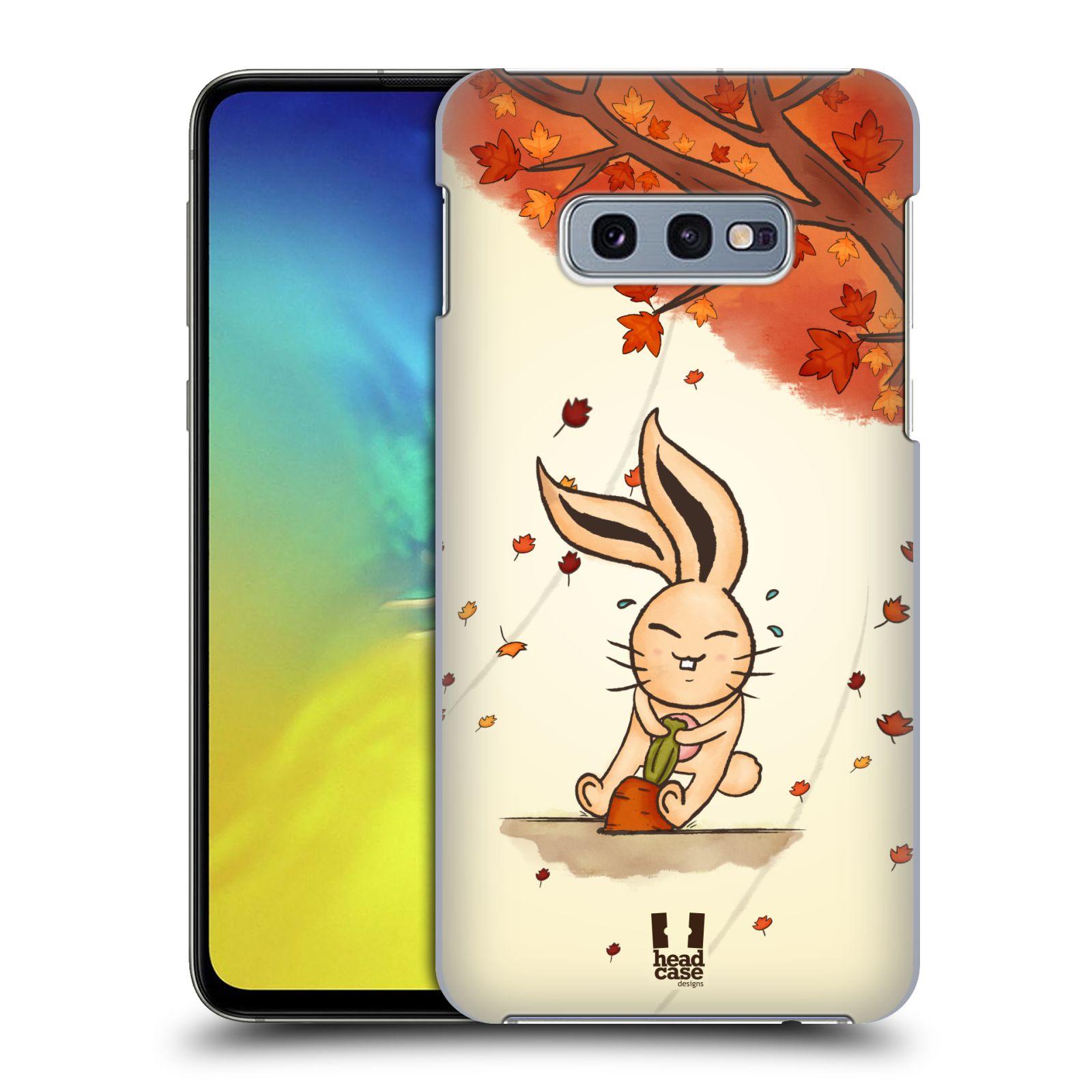 Plastové pouzdro na mobil Samsung Galaxy S10e - Head Case - PODZIMNÍ KRÁLÍK