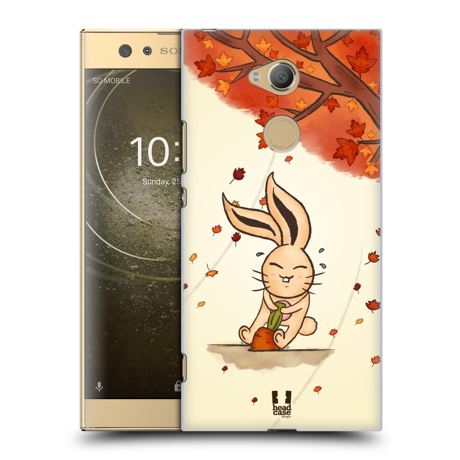 Plastové pouzdro na mobil Sony Xperia XA2 Ultra - Head Case - PODZIMNÍ KRÁLÍK