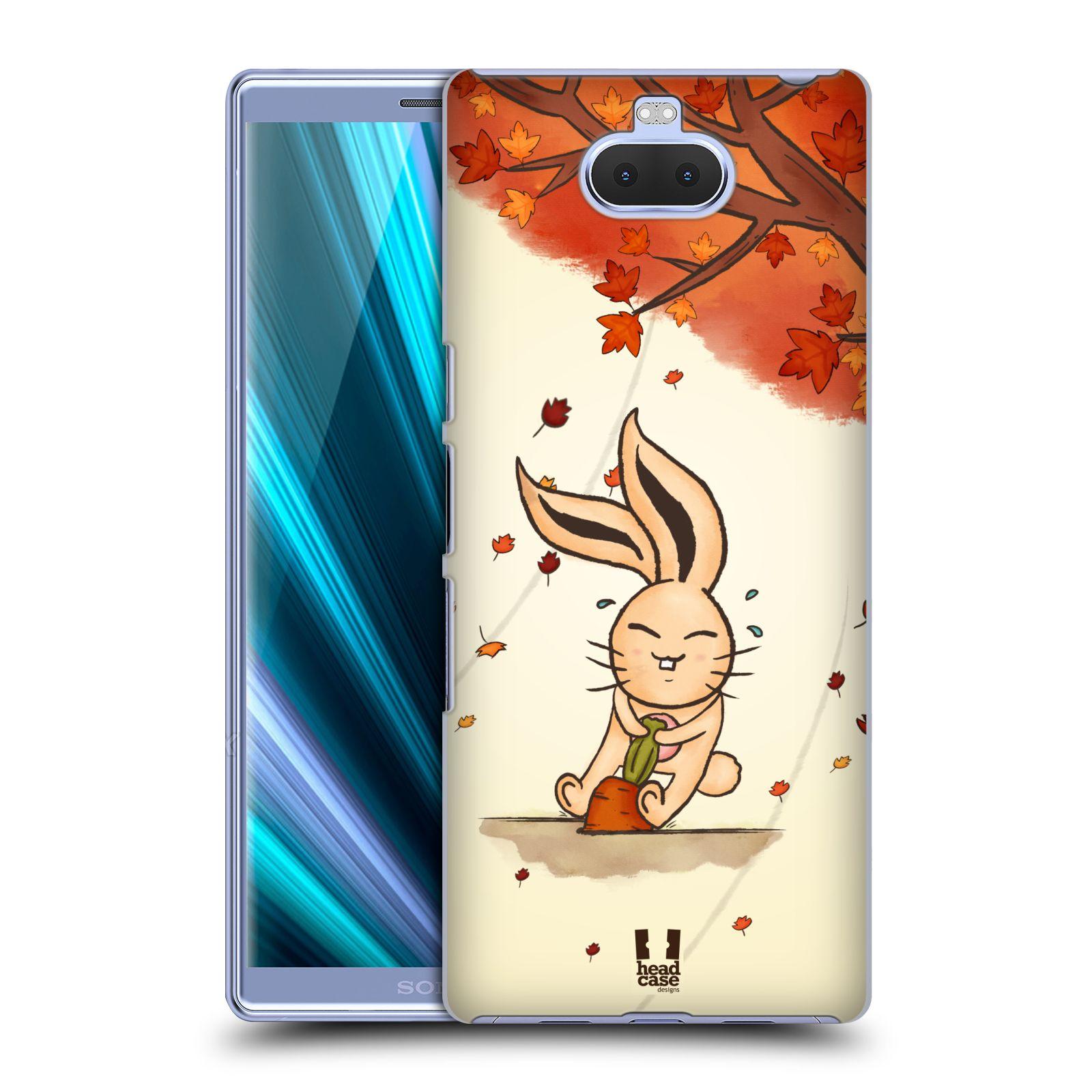 Plastové pouzdro na mobil Sony Xperia 10 Plus - Head Case - PODZIMNÍ KRÁLÍK