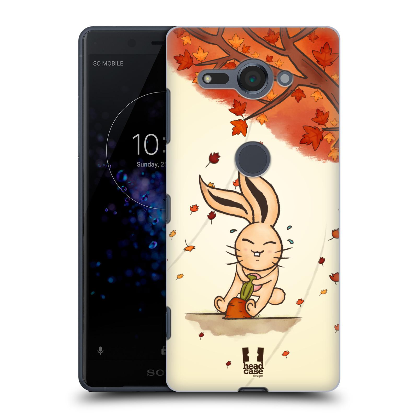 Plastové pouzdro na mobil Sony Xperia XZ2 Compact - Head Case - PODZIMNÍ KRÁLÍK