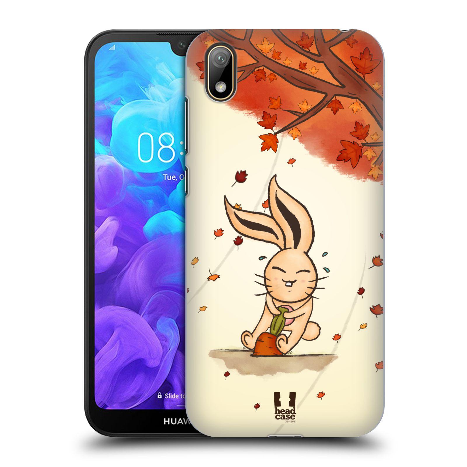 Plastové pouzdro na mobil Honor 8S - Head Case - PODZIMNÍ KRÁLÍK