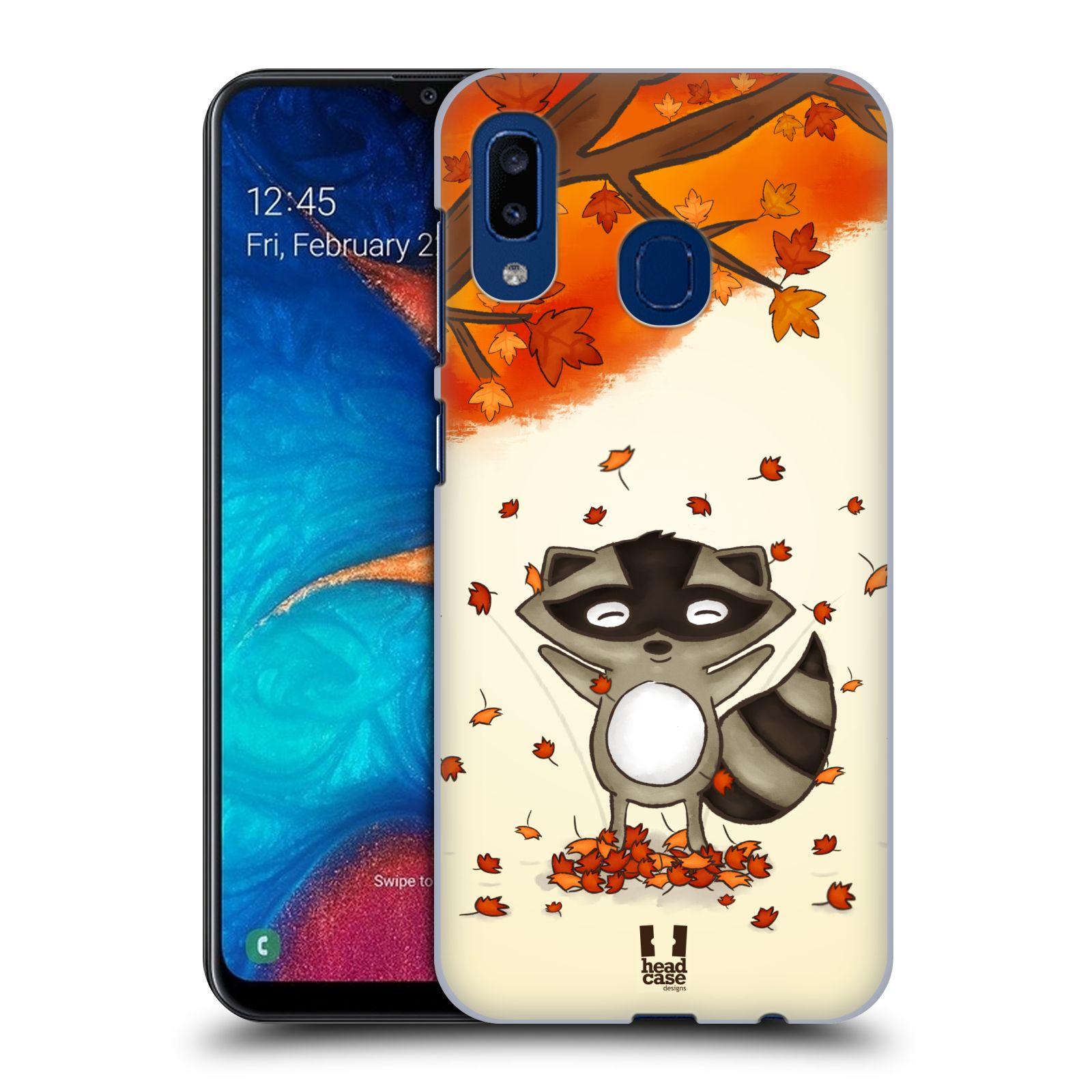 Plastové pouzdro na mobil Samsung Galaxy A20 - Head Case - PODZIMNÍ MÝVAL